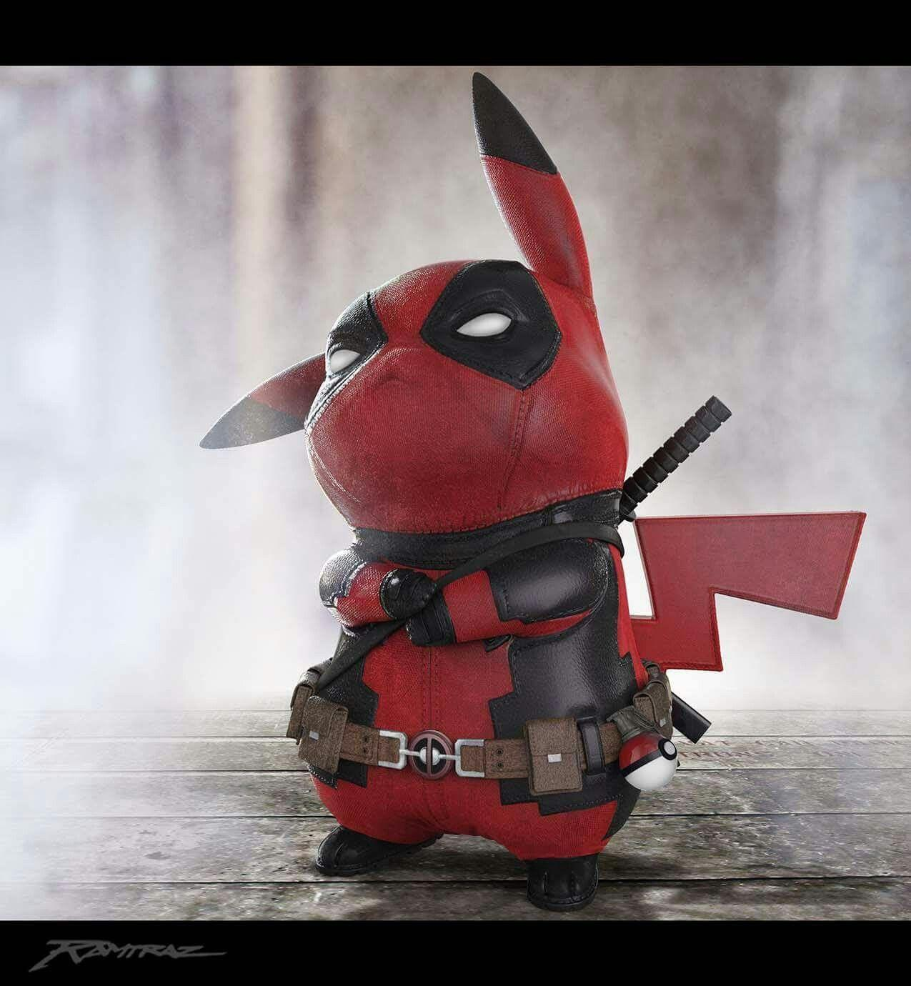 Deadpool Pikachu Wallpapers Wallpaper Cave