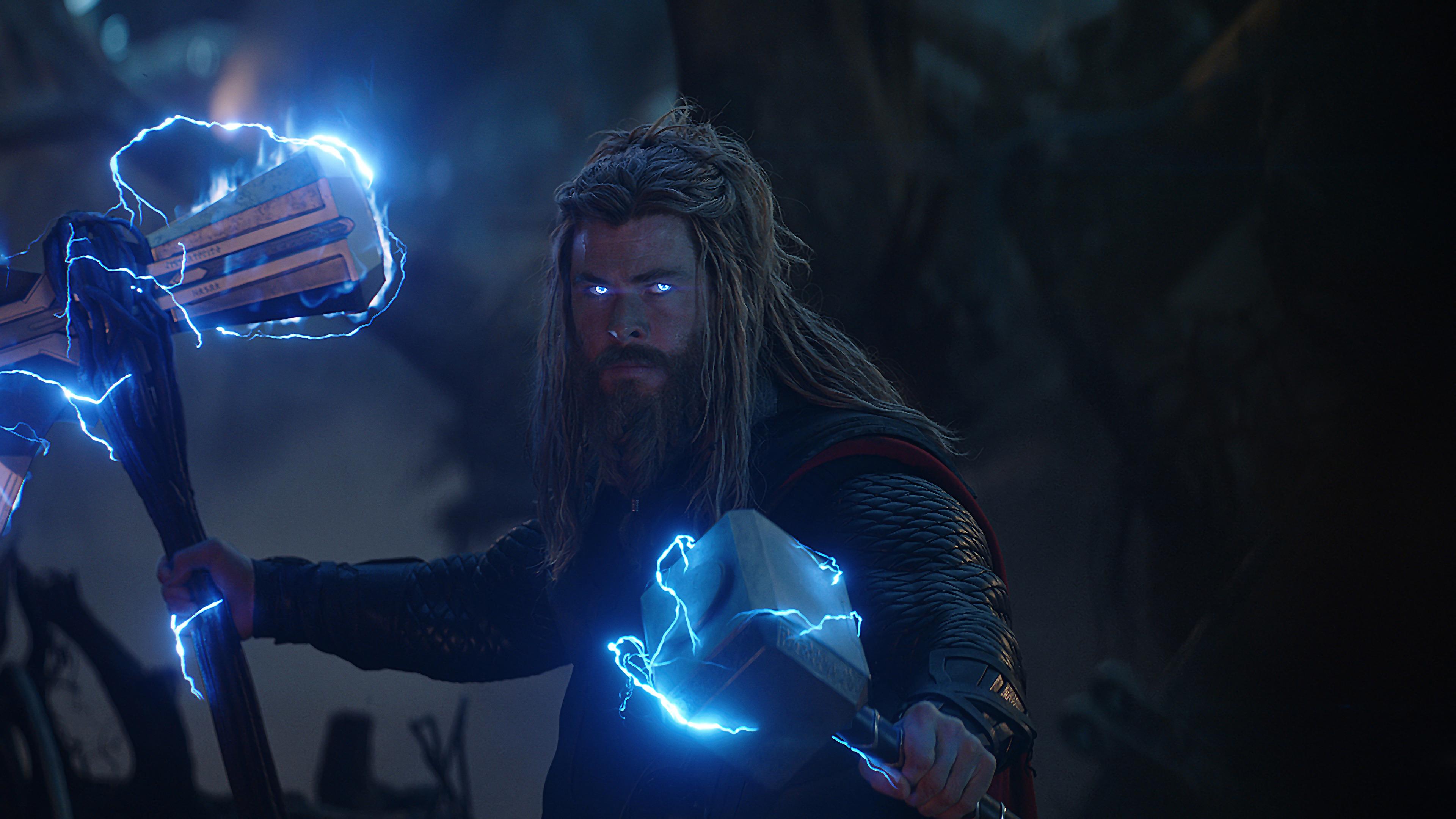 Thor Stormbreaker Lightning Wallpapers Wallpaper Cave
