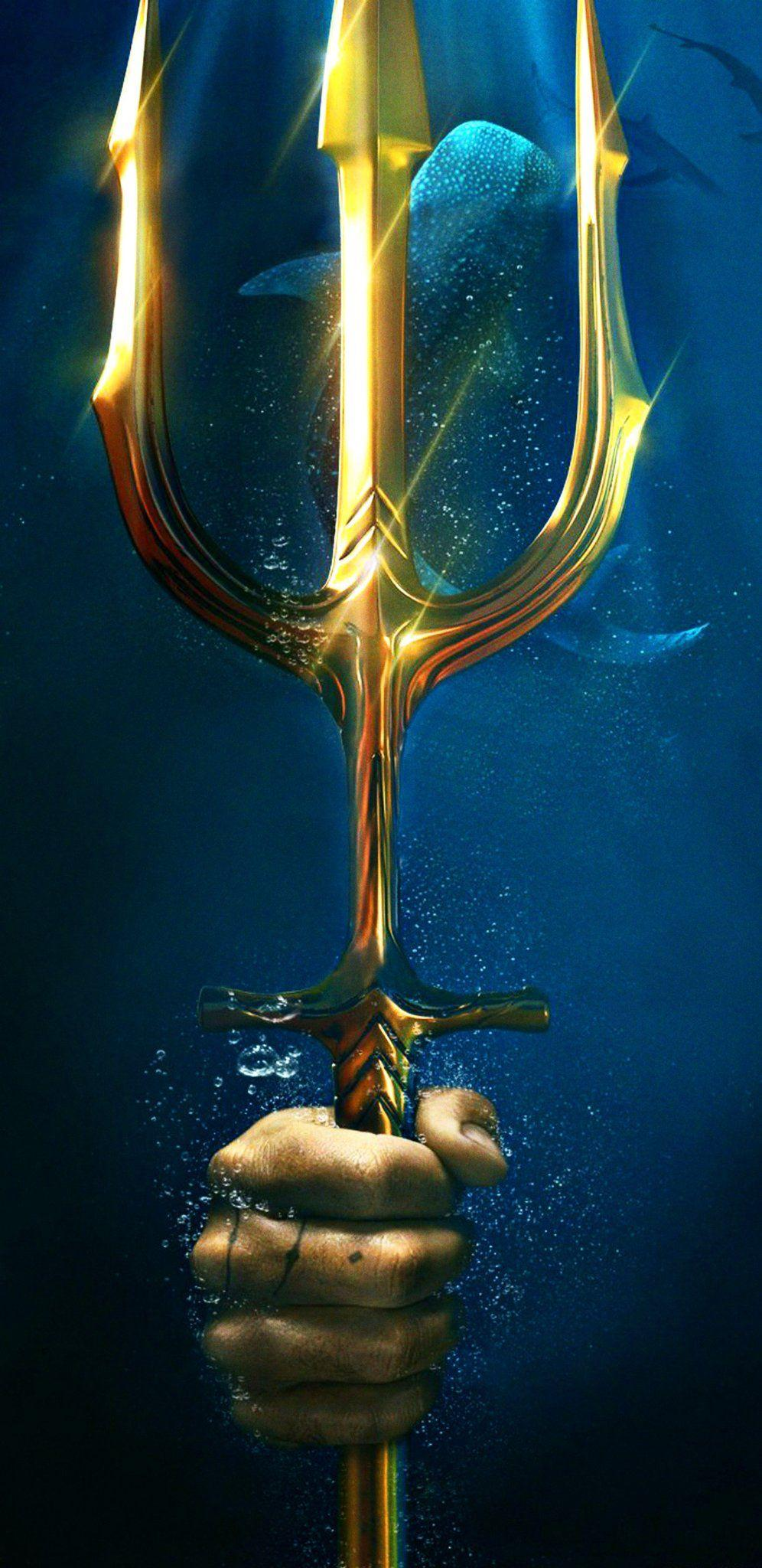 Aquaman Trident Wallpapers Wallpaper Cave