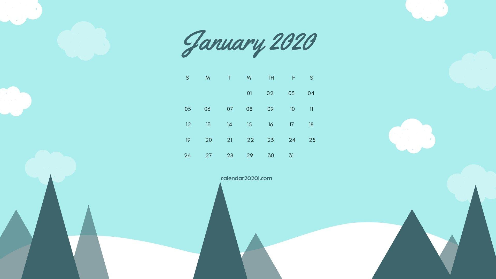 Calendar 2020 Wallpapers - Wallpaper Cave