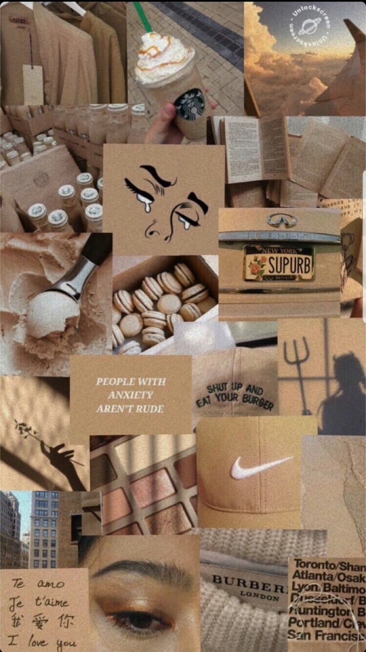 Beige aesthetic wp shared by