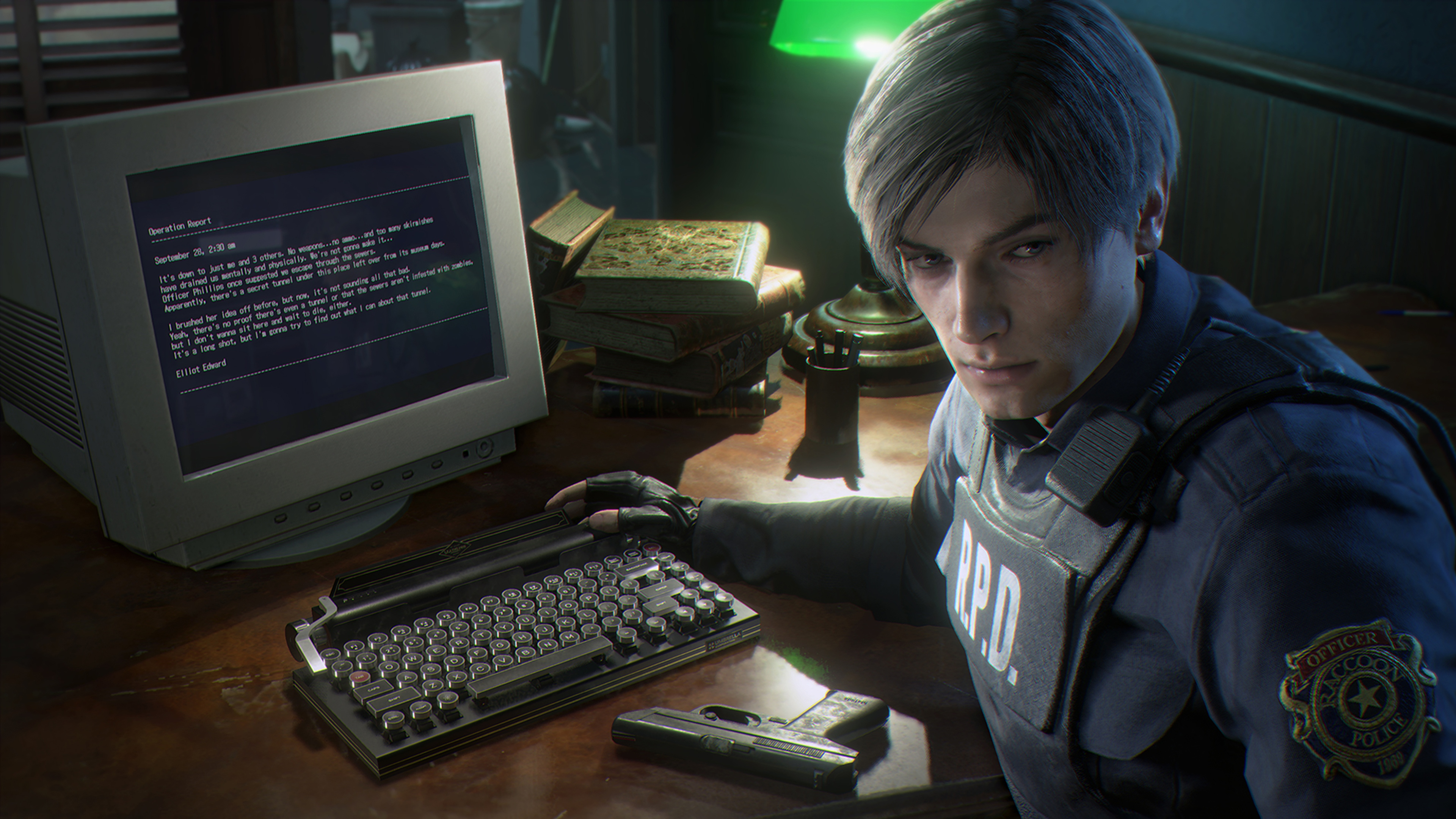 Leon Kennedy Resident Evil 2 Wallpapers - Wallpaper Cave