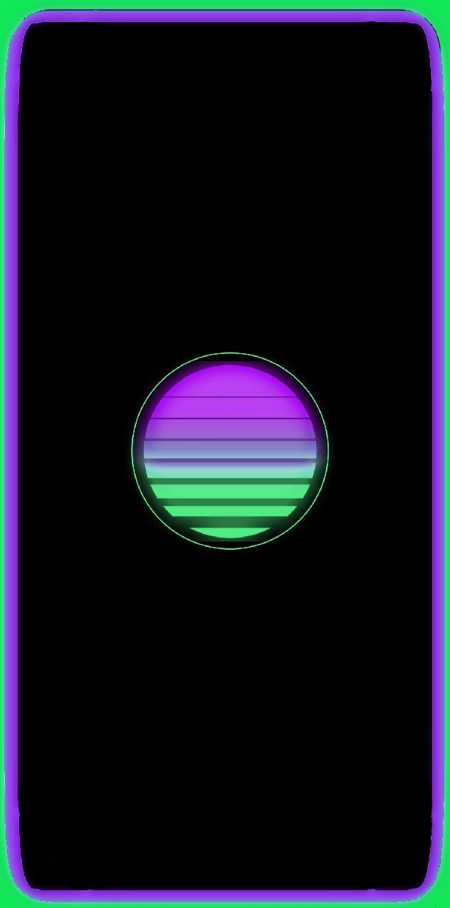 lit moon wallpapers for iphone