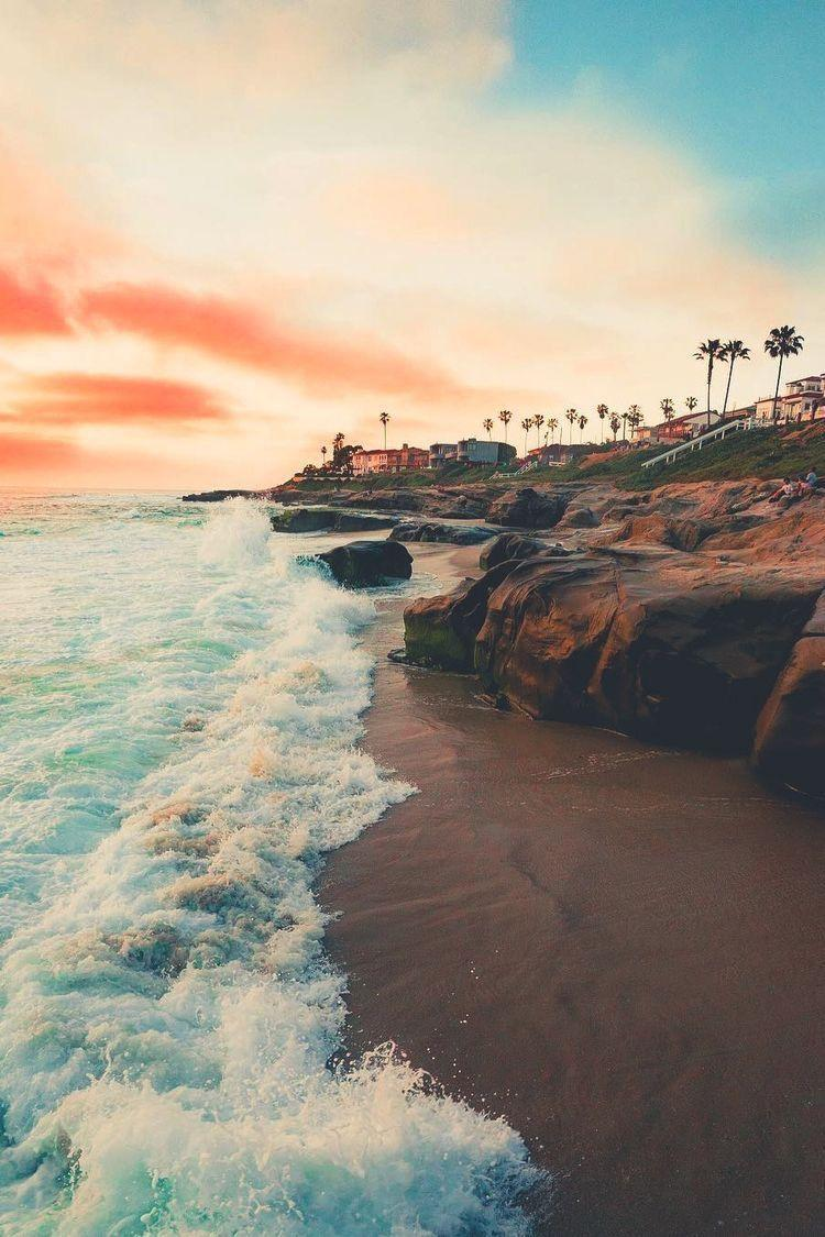 Aesthetic Beach Wallpapers Wallpaper Cave