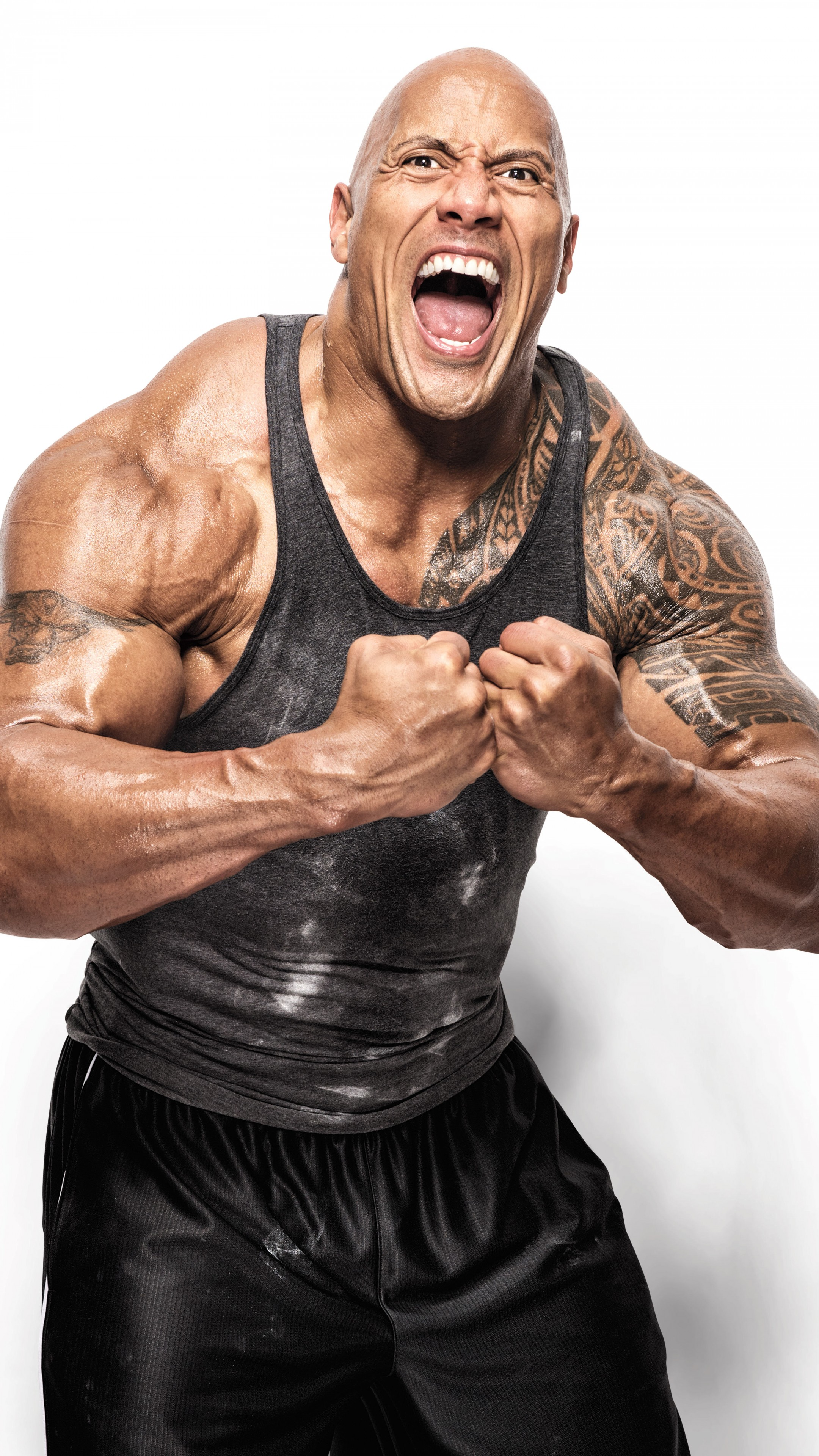 Wallpapers Dwayne Johnson, photo, 8k, Celebrities