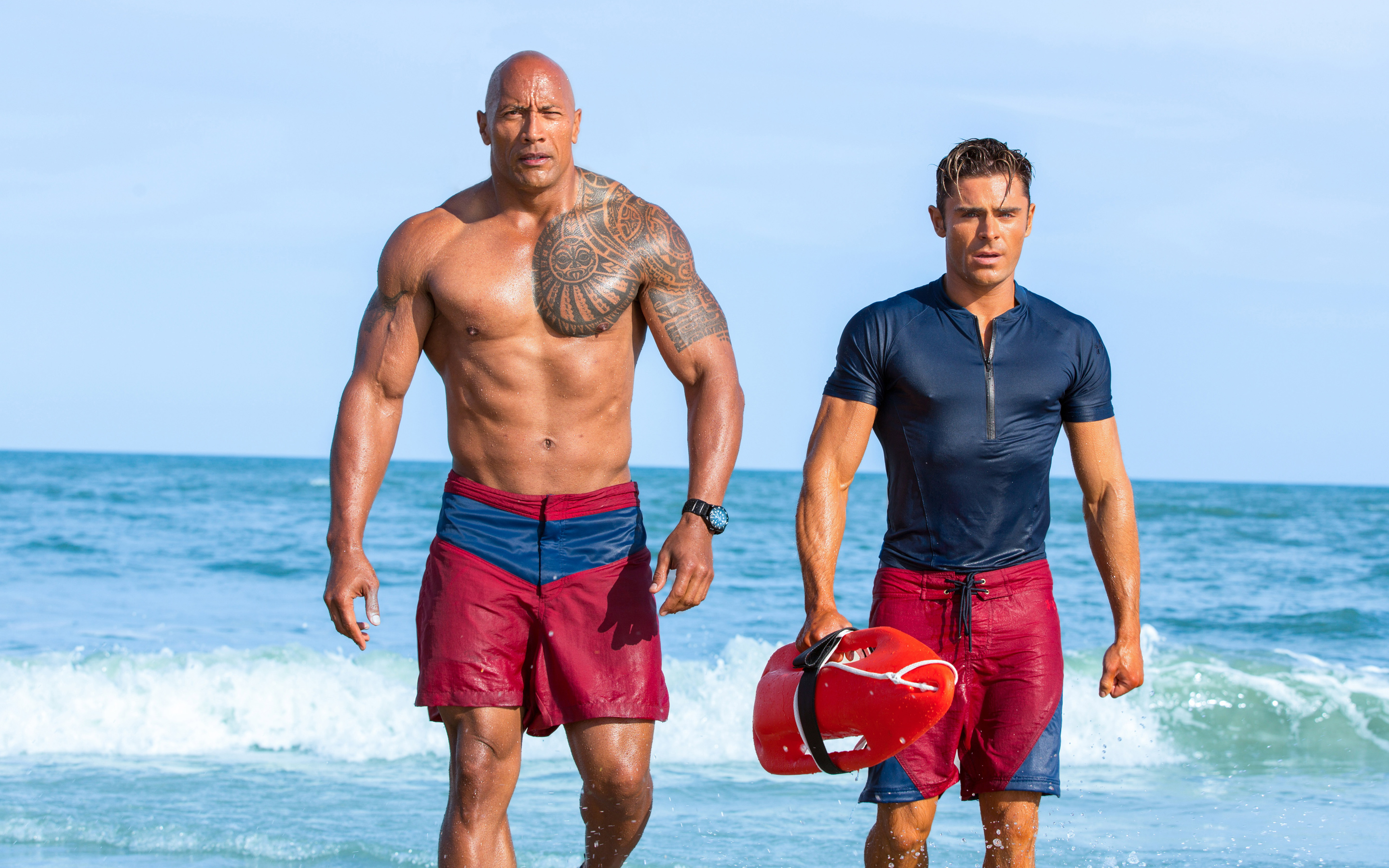zac efron wallpapers dwayne johnson hd