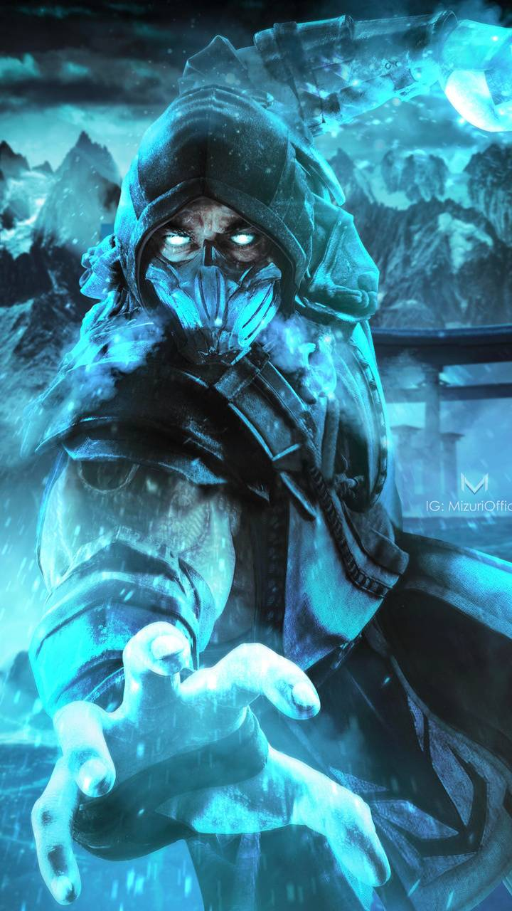 Sub Zero Mk11 Wallpapers Wallpaper Cave