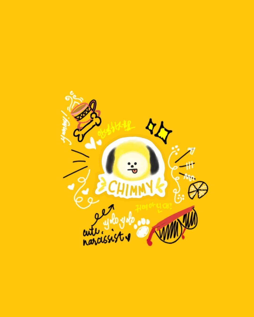 Chimmy BT21 Wallpapers - Wallpaper Cave