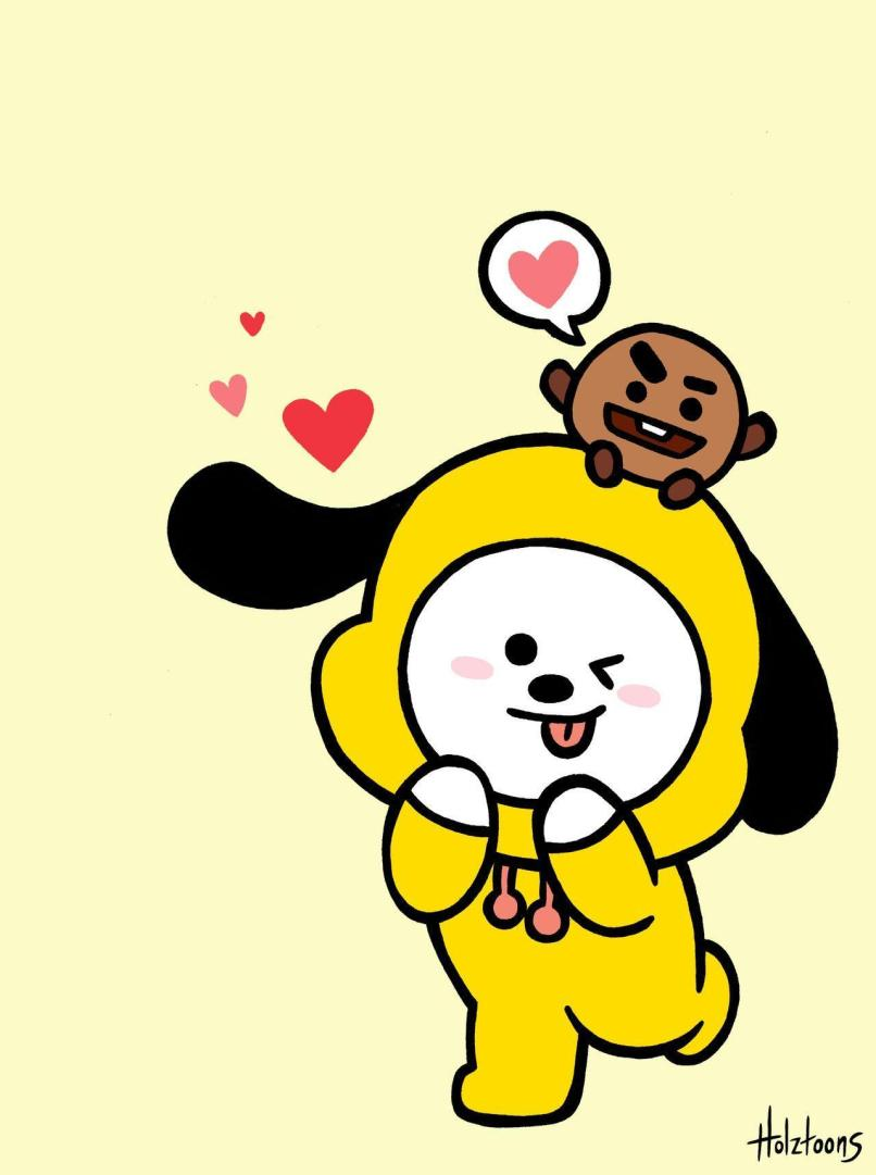 Chimmy Bt21 Wallpapers Wallpaper Cave