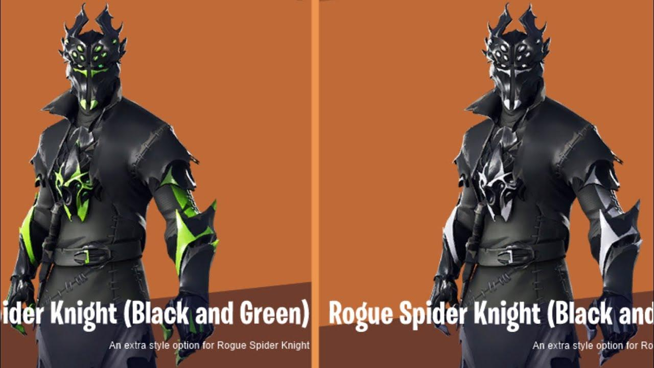 Rogue Spider Knight Fortnite wallpapers