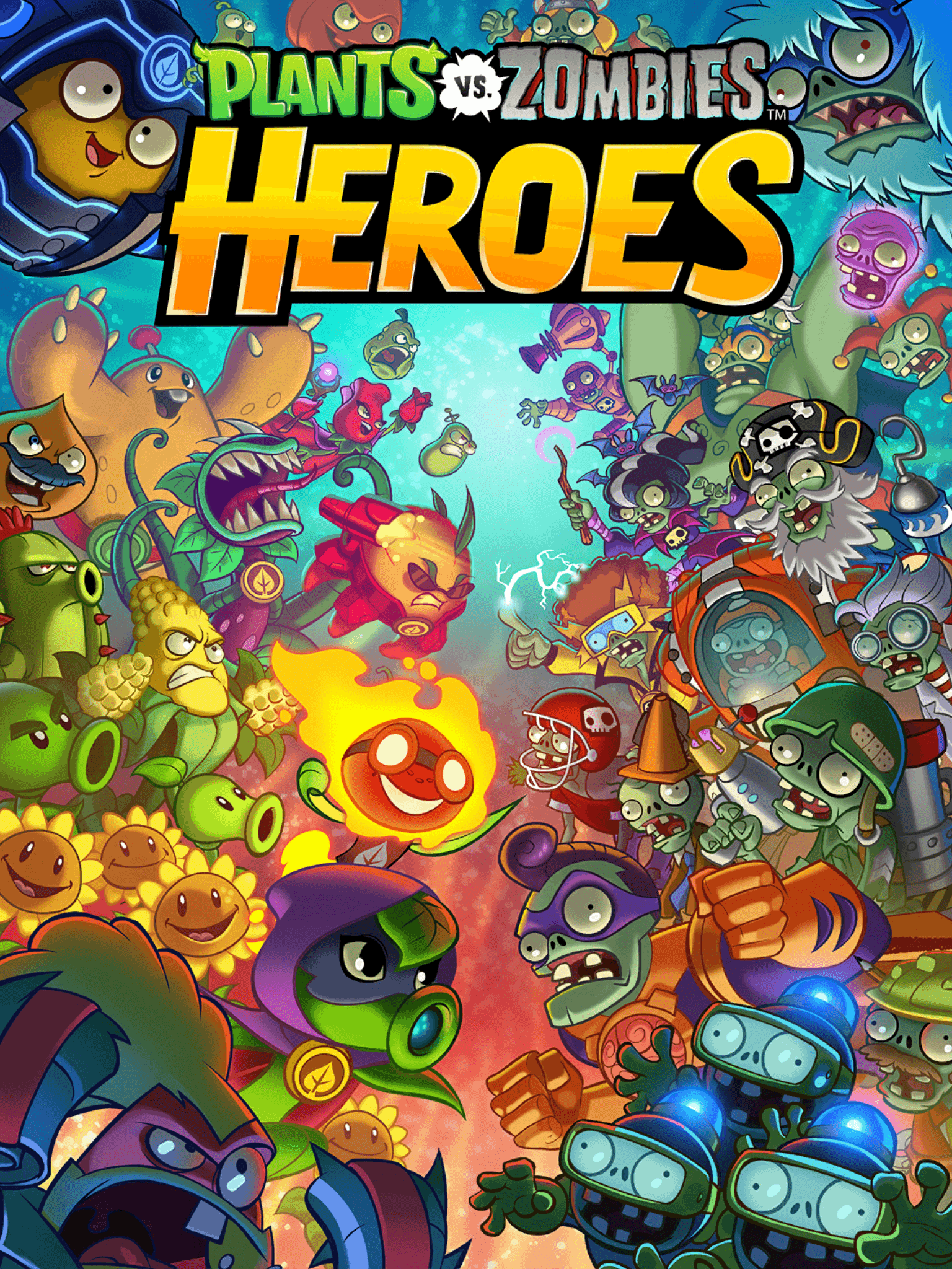 Plants Vs Zombies Heroes Wallpapers Wallpaper Cave