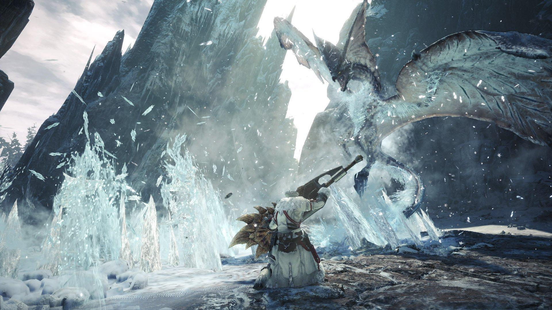 Monster Hunter World Iceborne Shrieking Legiana Wallpapers