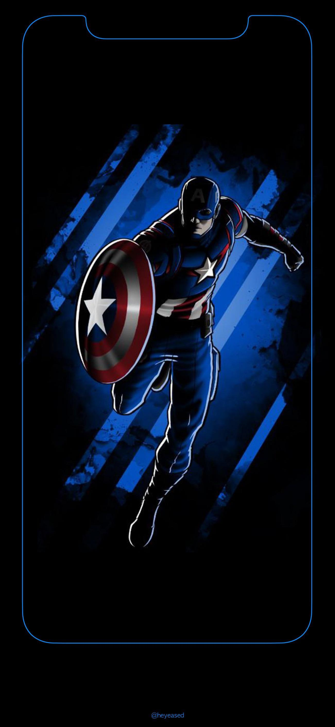 Captain America Iphone Wallpapers Wallpaper Cave