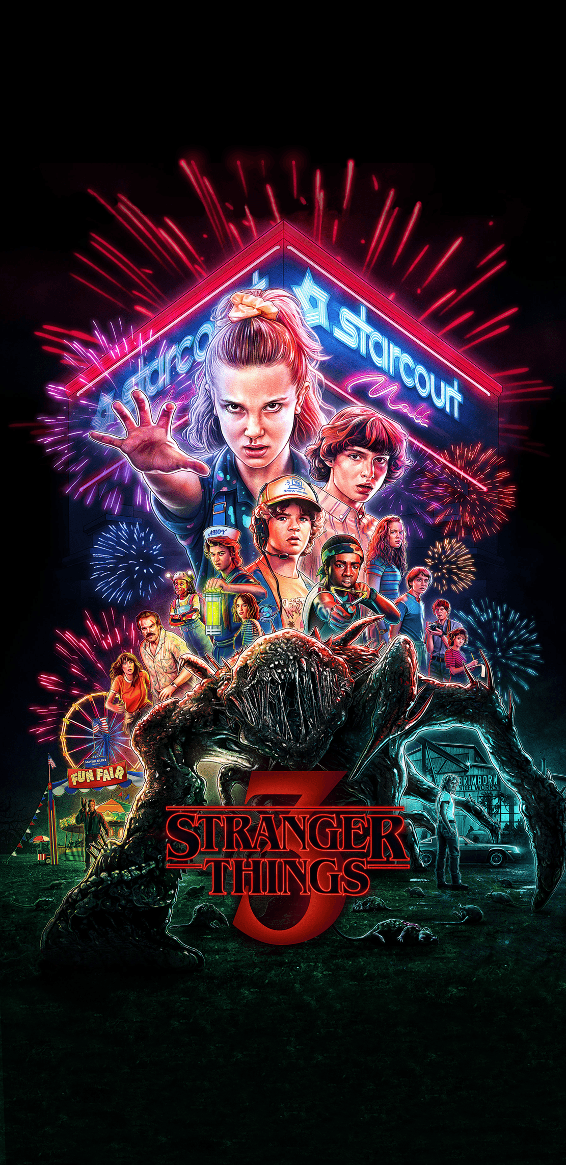 Eleven Stranger Things Season 3 Wallpapers Wallpaper Cave