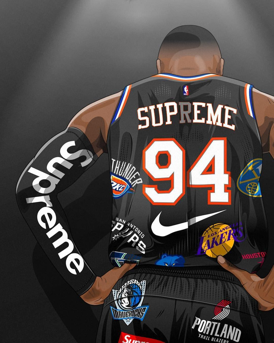 Supreme Basketball Wallpapers Wallpaper Cave