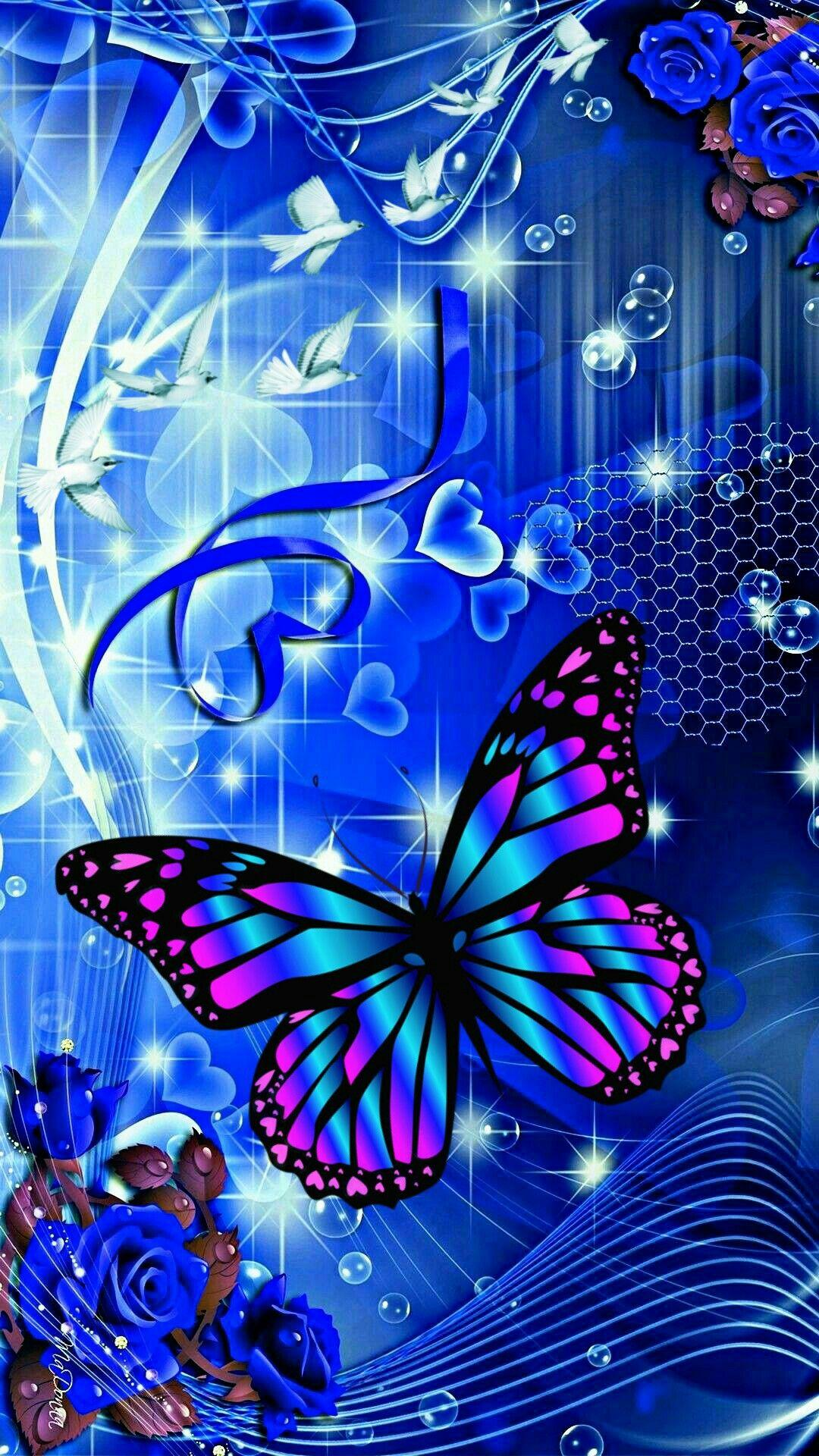 Blue Butterfly Fairy Wallpapers - Wallpaper Cave