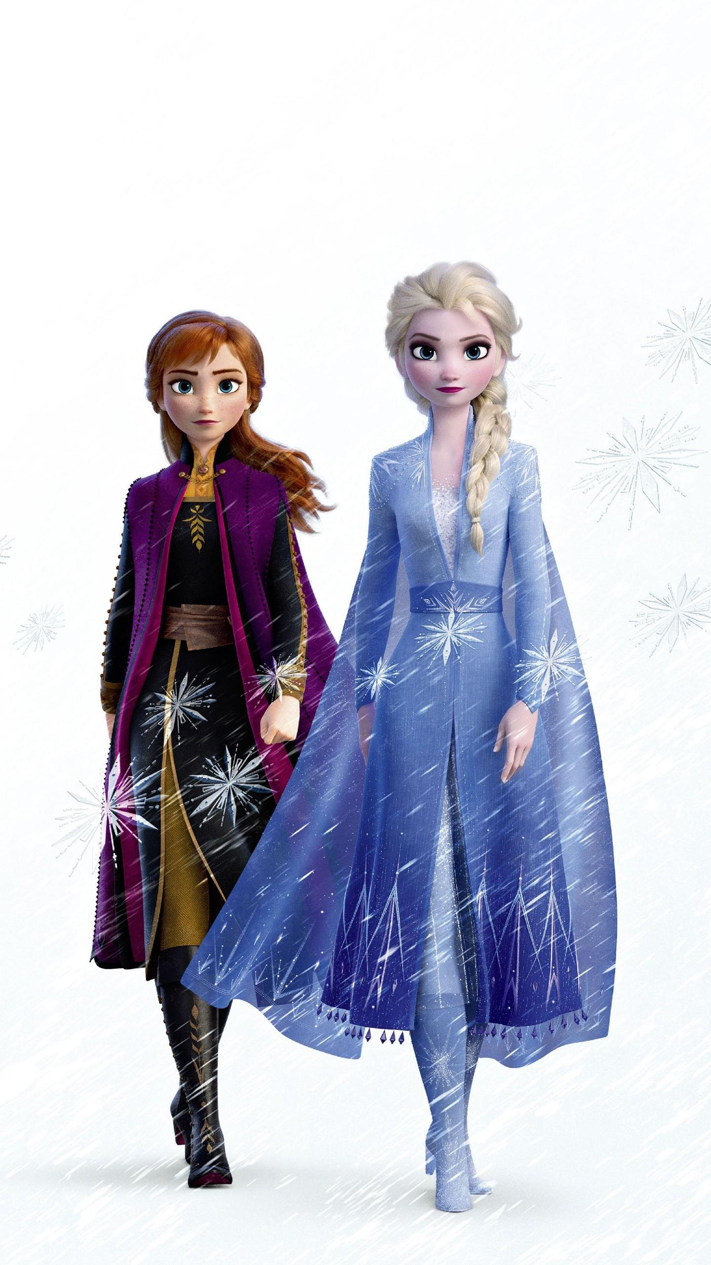 Elsa And Anna Frozen 2 Wallpapers Wallpaper Cave