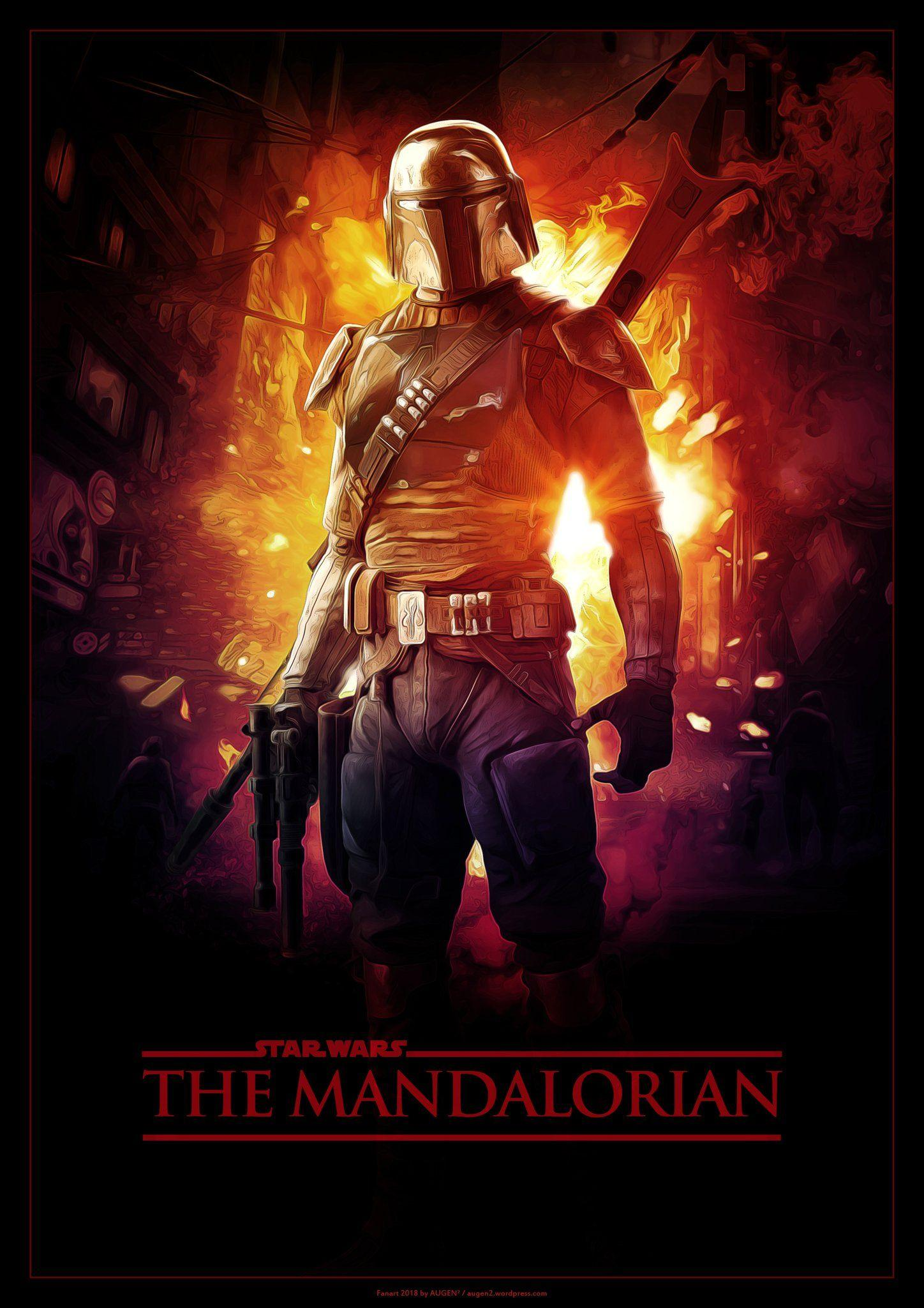 Mandalorian Concept Art Wallpapers Wallpaper Cave
