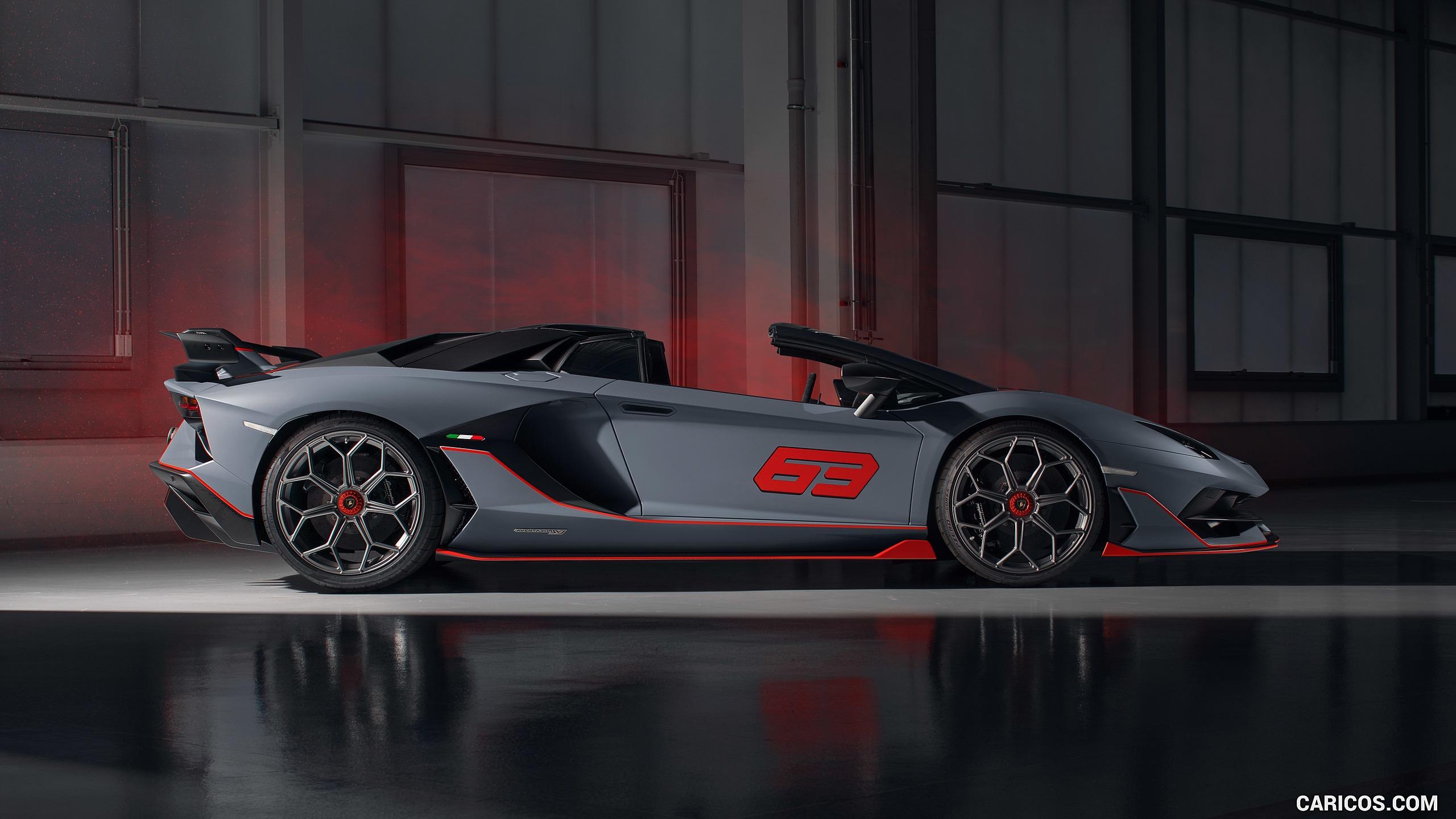 Lamborghini Aventador Svj 63 Roadster 2020 Wallpapers