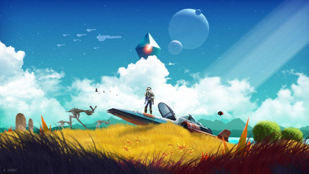 No Mans Sky Beyond Wallpapers Wallpaper Cave
