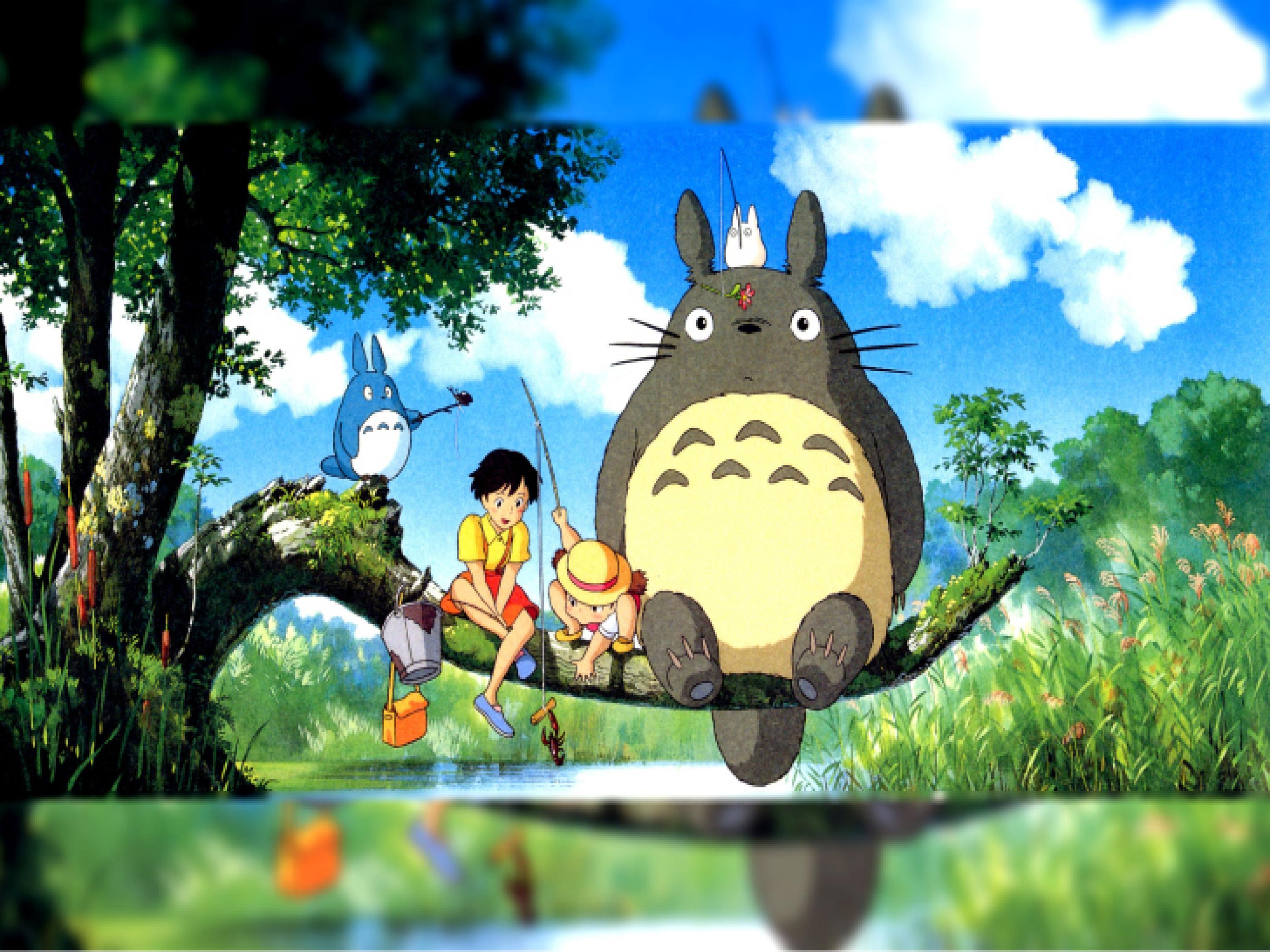 My Neighbor Totoro Hd Wallpapers Wallpaper Cave