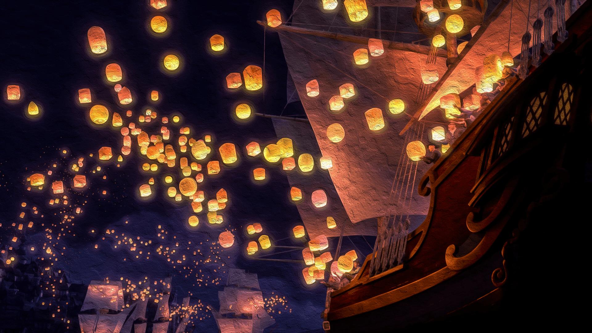 Night Lanterns Wallpapers Wallpaper Cave