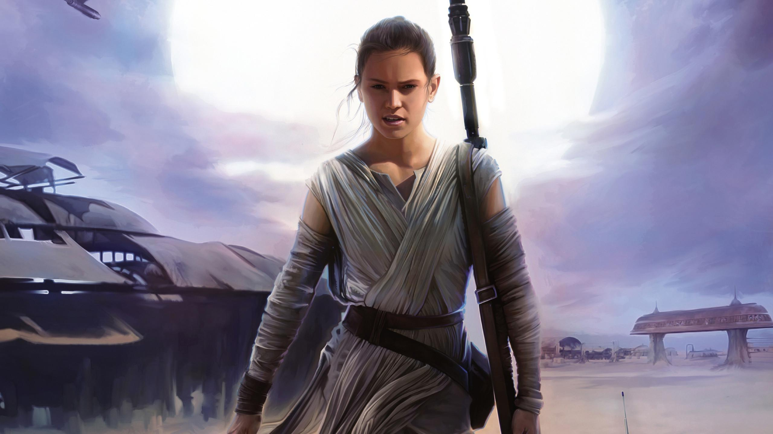 Rey Star Wars Computer Wallpapers Wallpaper Cave