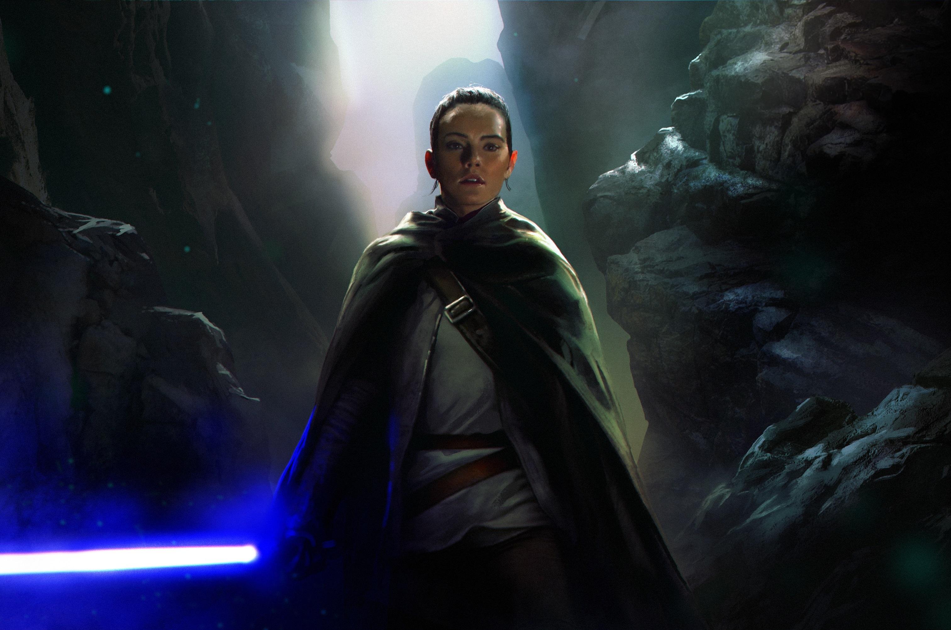 Dark Rey Star Wars Wallpapers Wallpaper Cave