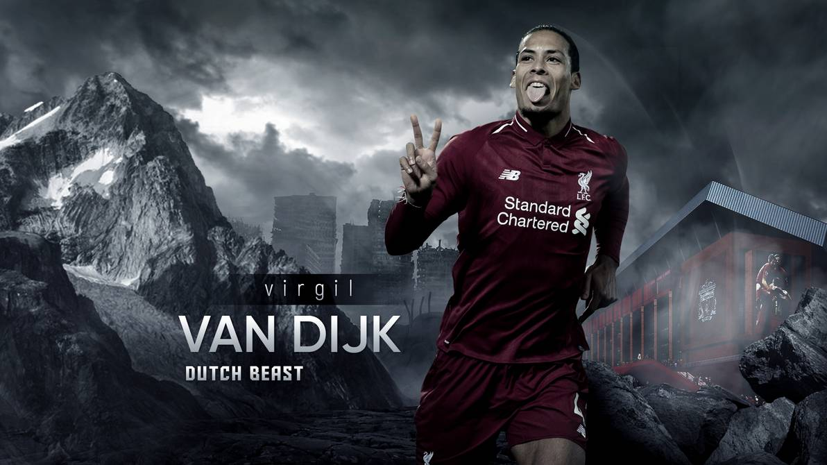 Virgil Van Dijk FIFA 20 Poster Wallpapers