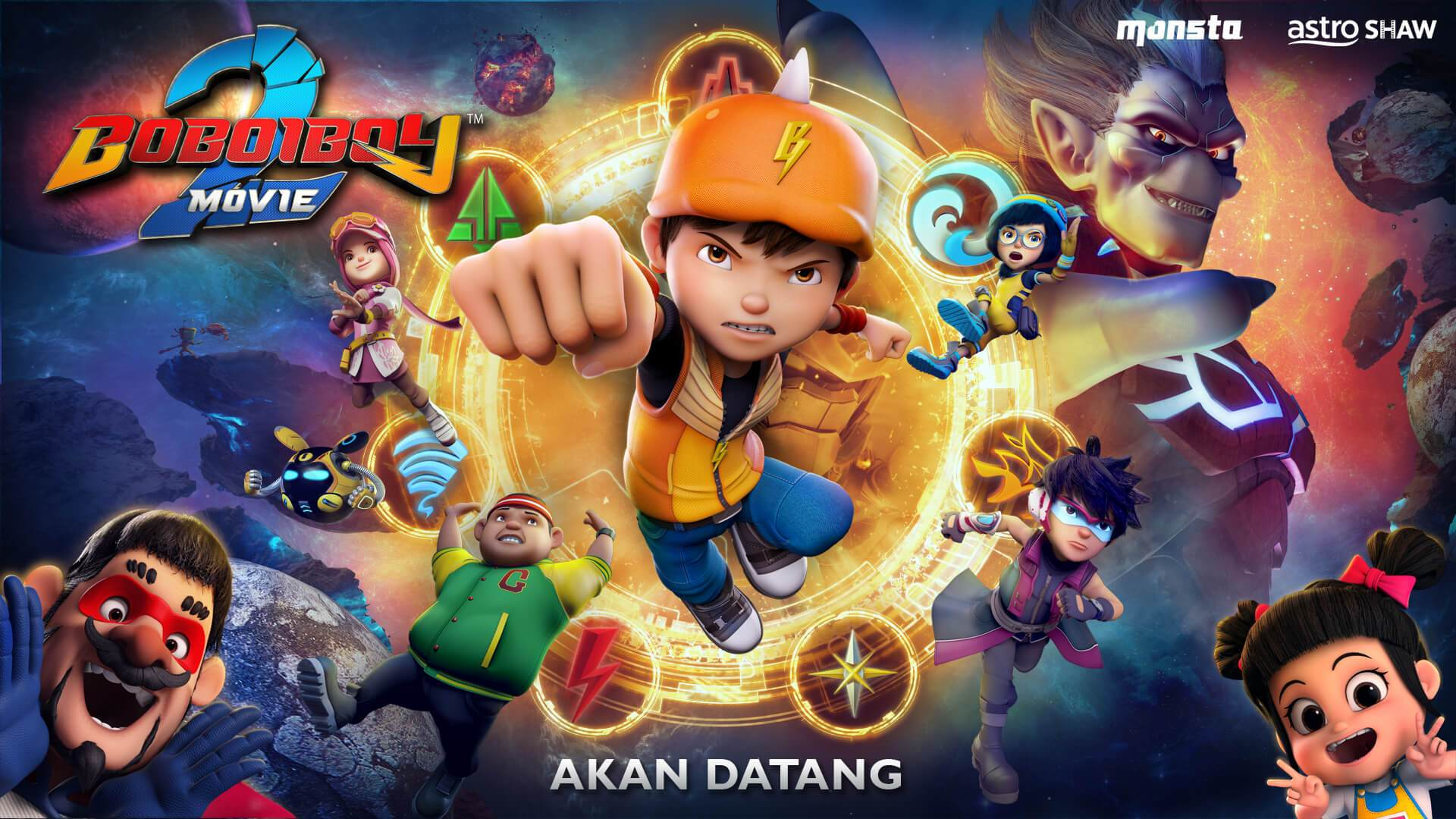 Boboiboy Movie 2 Wallpapers Wallpaper Cave