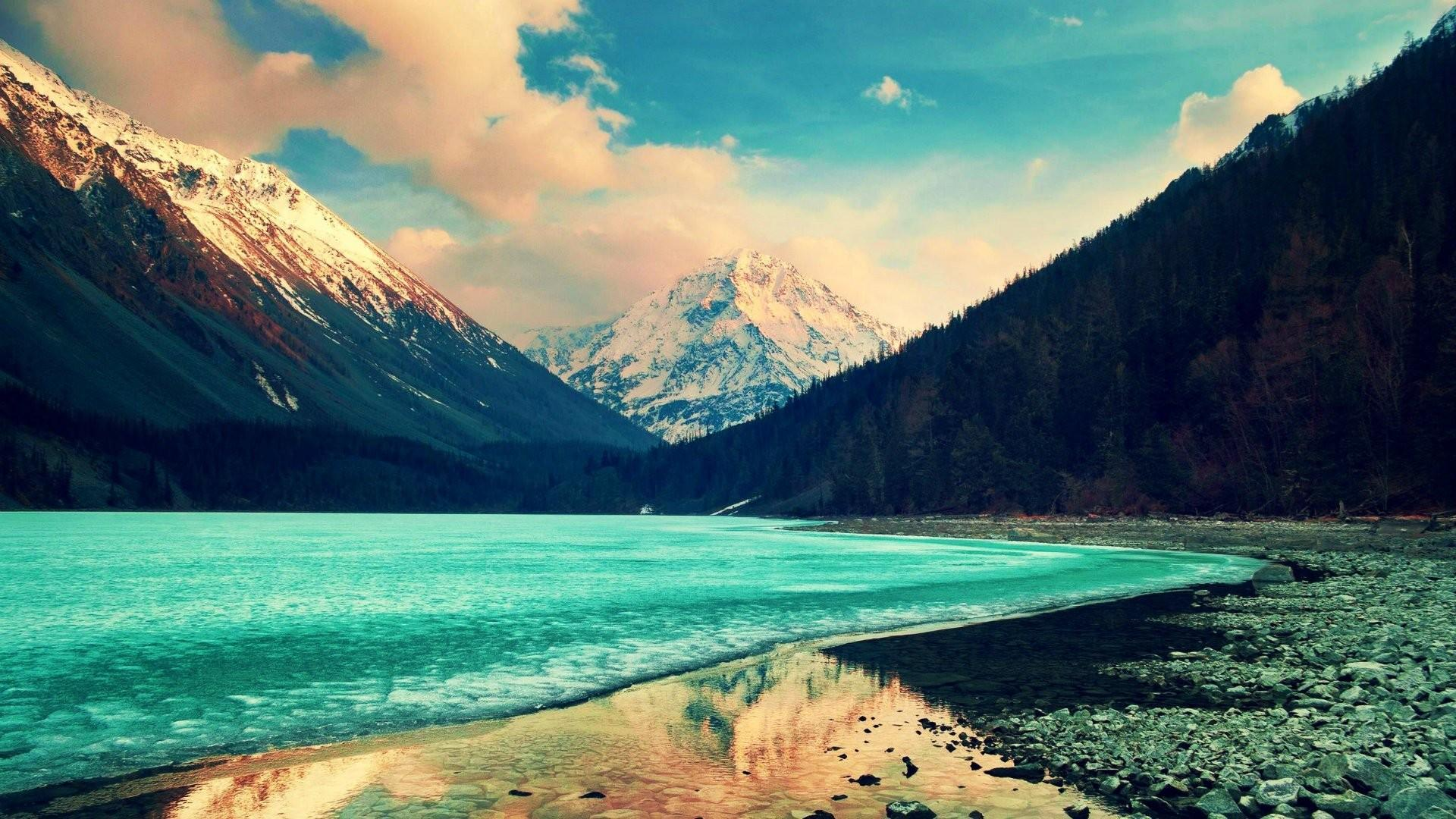 Mountain Landscape Nature Wallpapers Wallpaper Cave