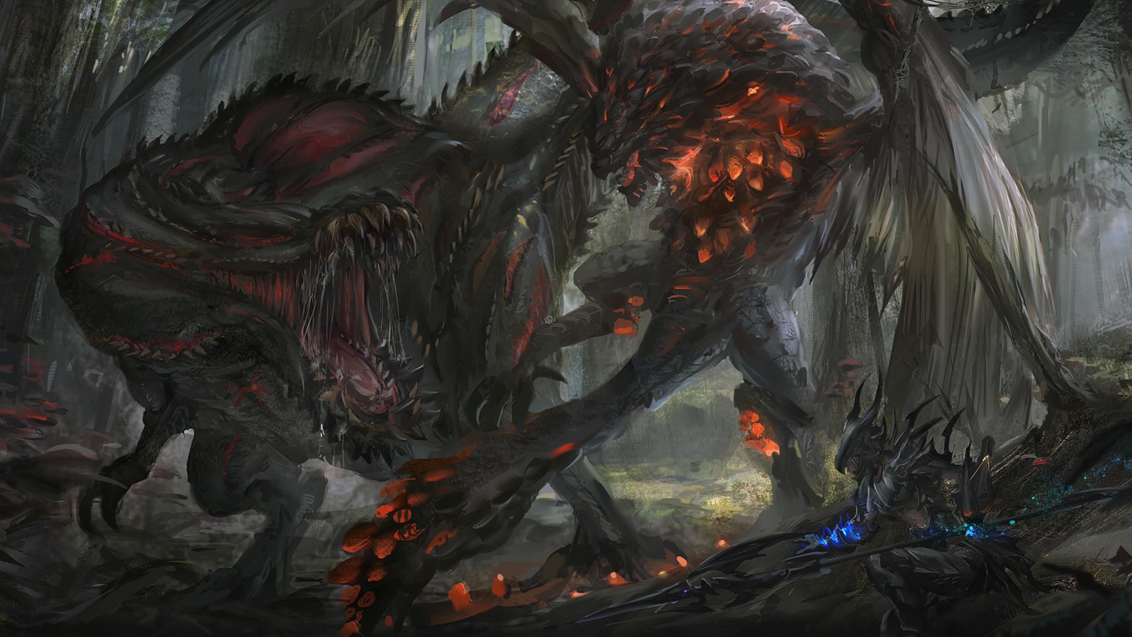 Monster Hunter World Deviljho Wallpapers - Wallpaper Cave