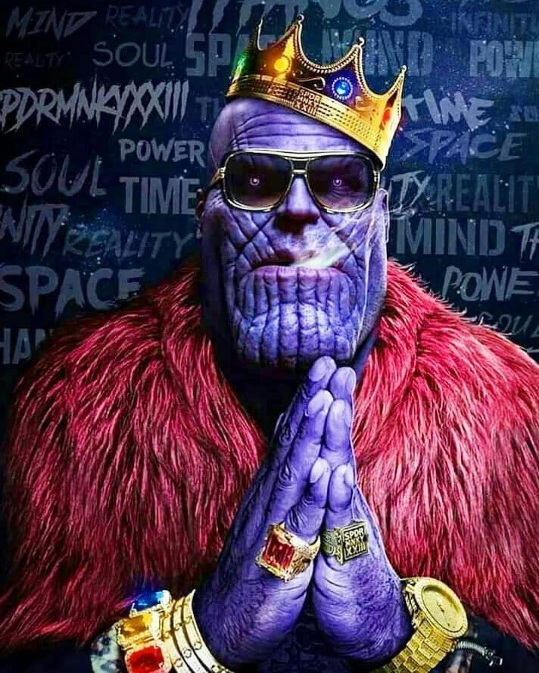 Thanos Thug Life Wallpapers Wallpaper Cave
