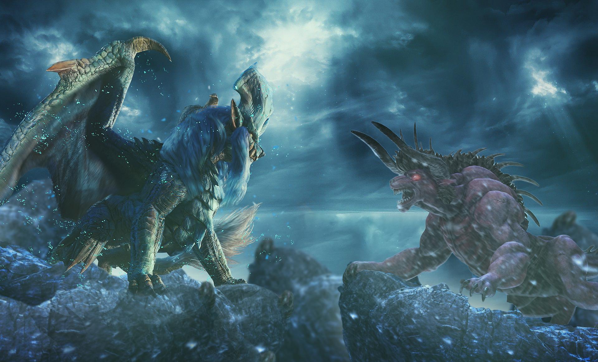 Monster Hunter World Behemoth Wallpapers Wallpaper Cave