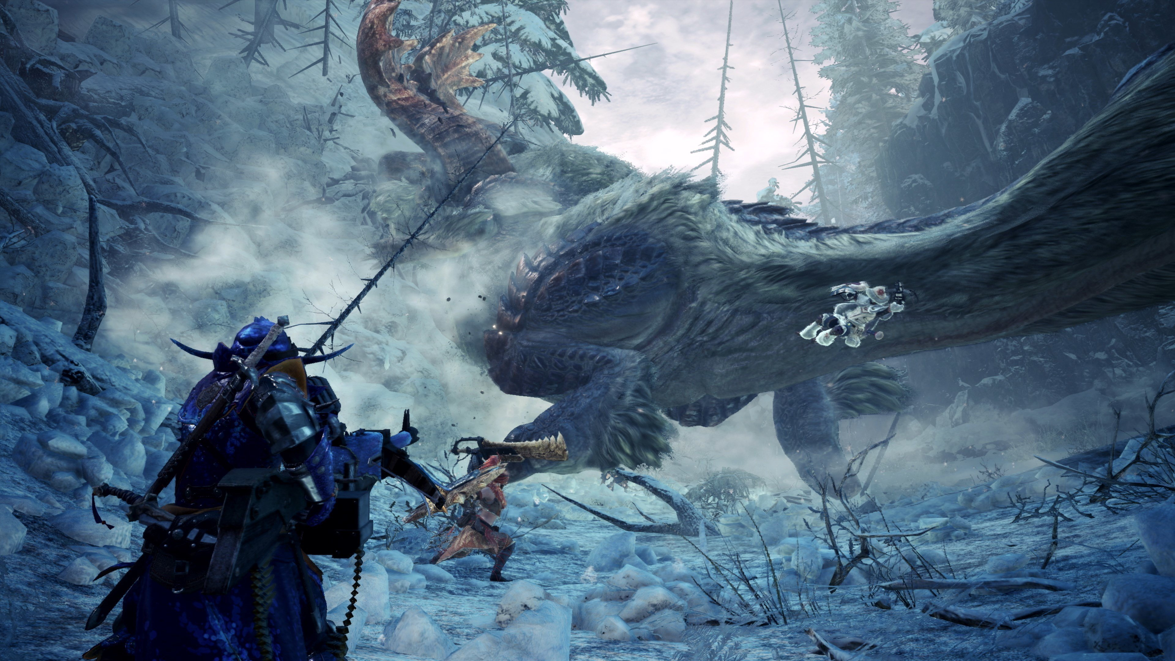 Monster Hunter World Iceborne Acidic Glavenus Wallpapers