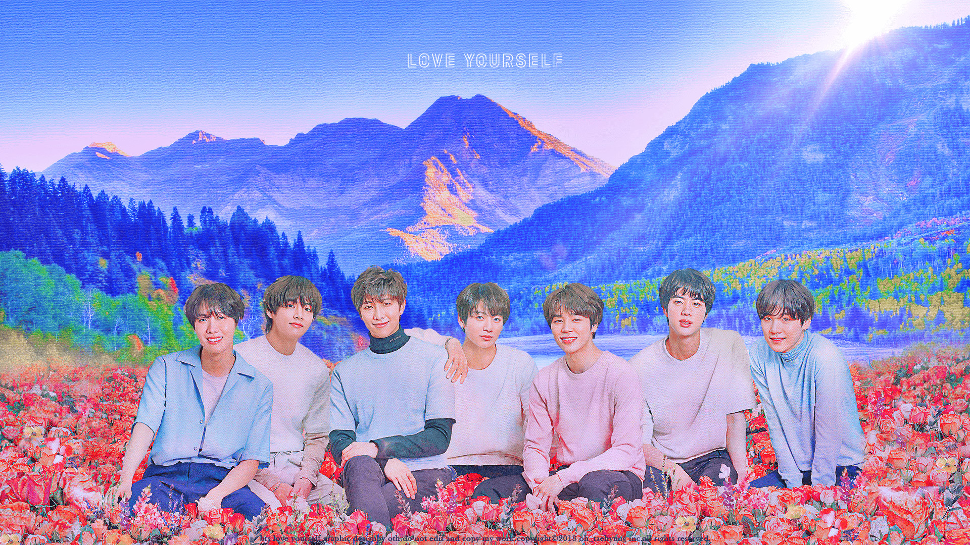 Bts Cute Computer Wallpapers Wallpaper Cave