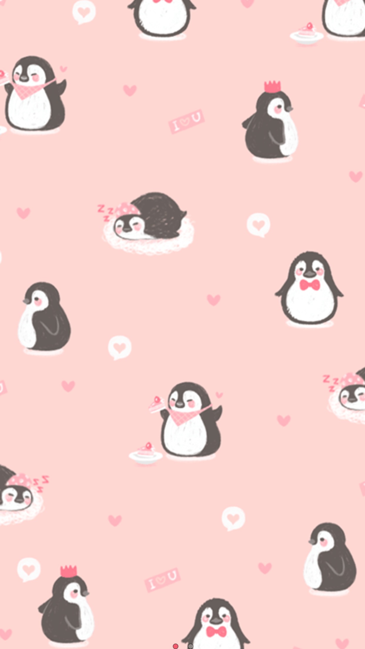 Cartoon Penguin Wallpapers Wallpaper Cave