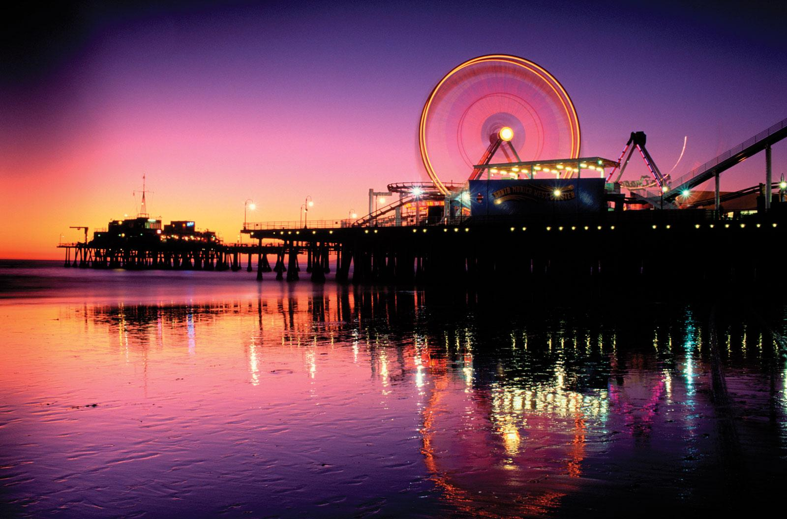 Santa Monica Beach Wallpapers Wallpaper Cave