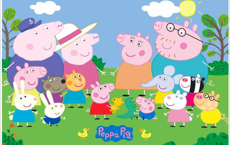 Best Peppa Pig House Wallpaper Horror Download