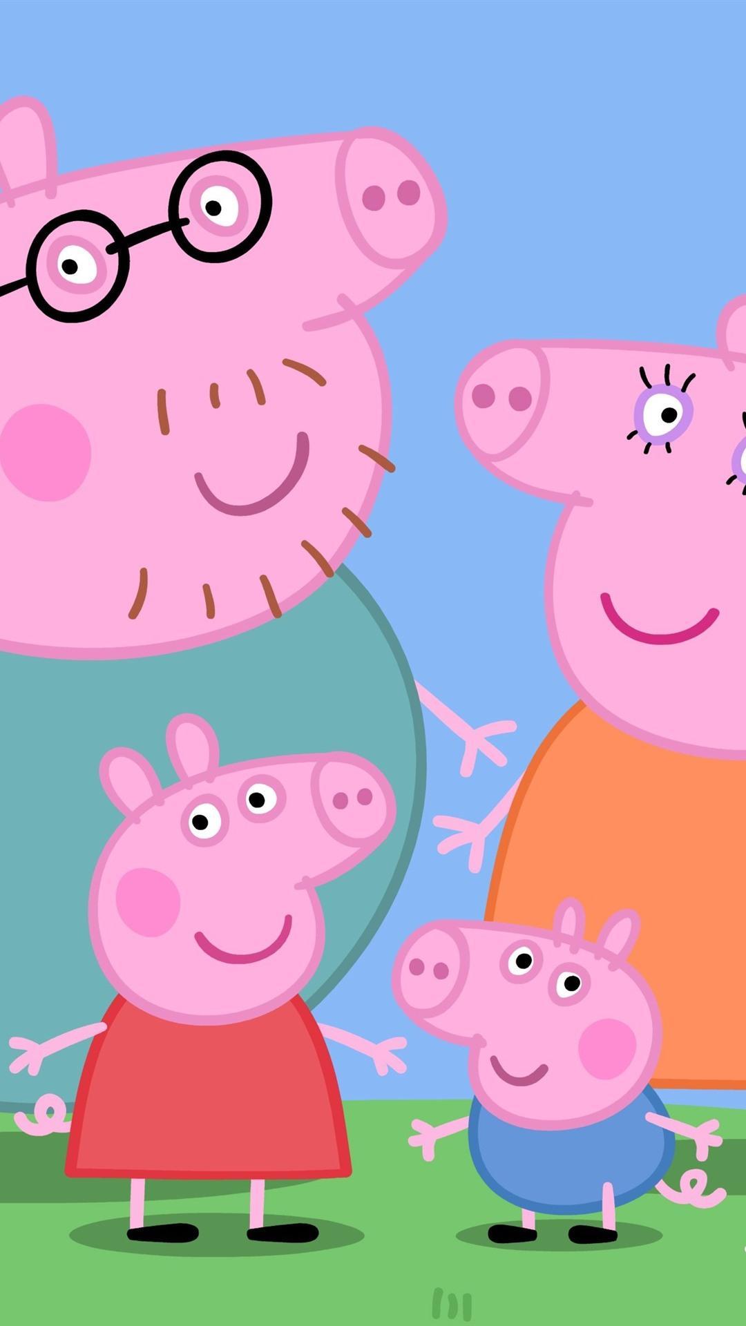 Peppa Pig Aesthetic Wallpapers - Wallpaper Cave
