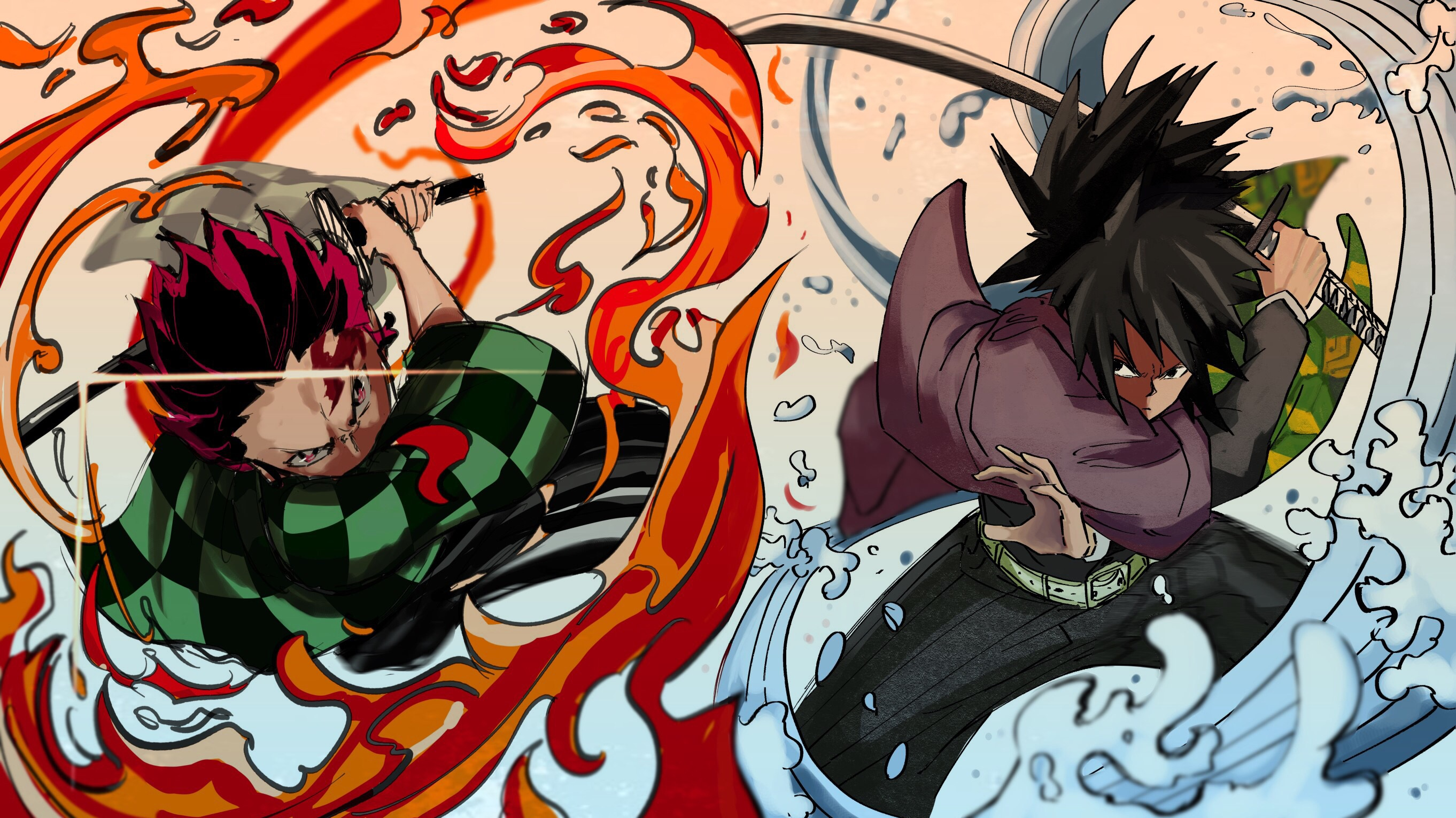 Demon Slayer Kimetsu No Yaiba Uhd Wallpapers Wallpaper Cave