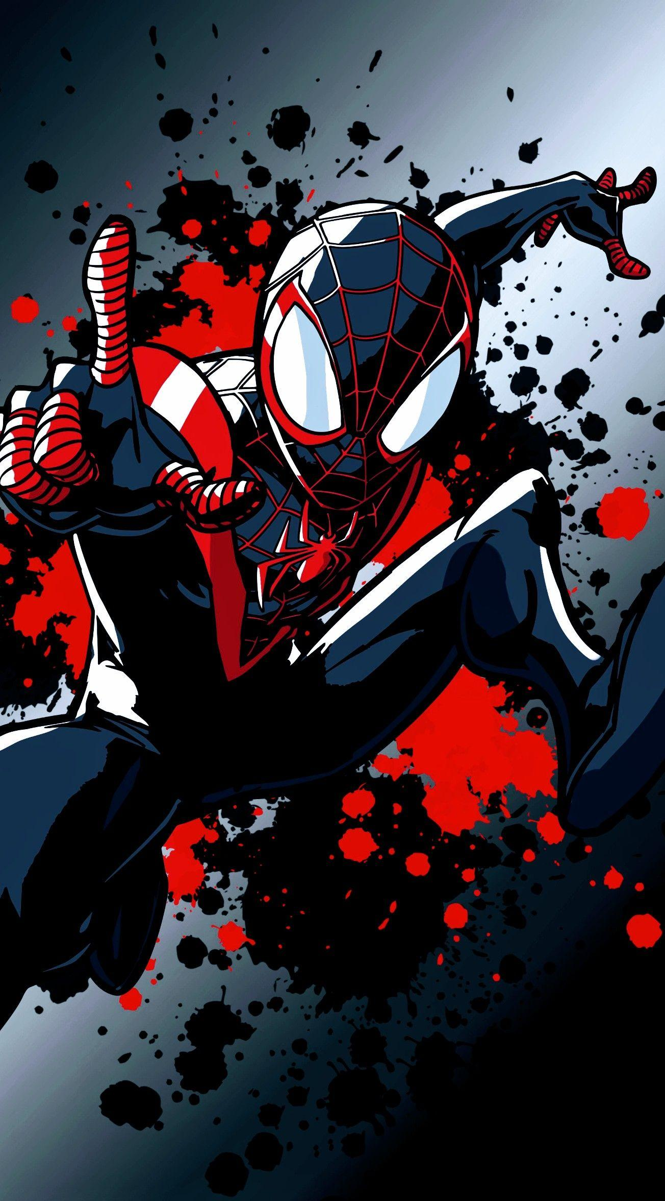 Peter Parker And Miles Morales Wallpapers - Wallpaper Cave