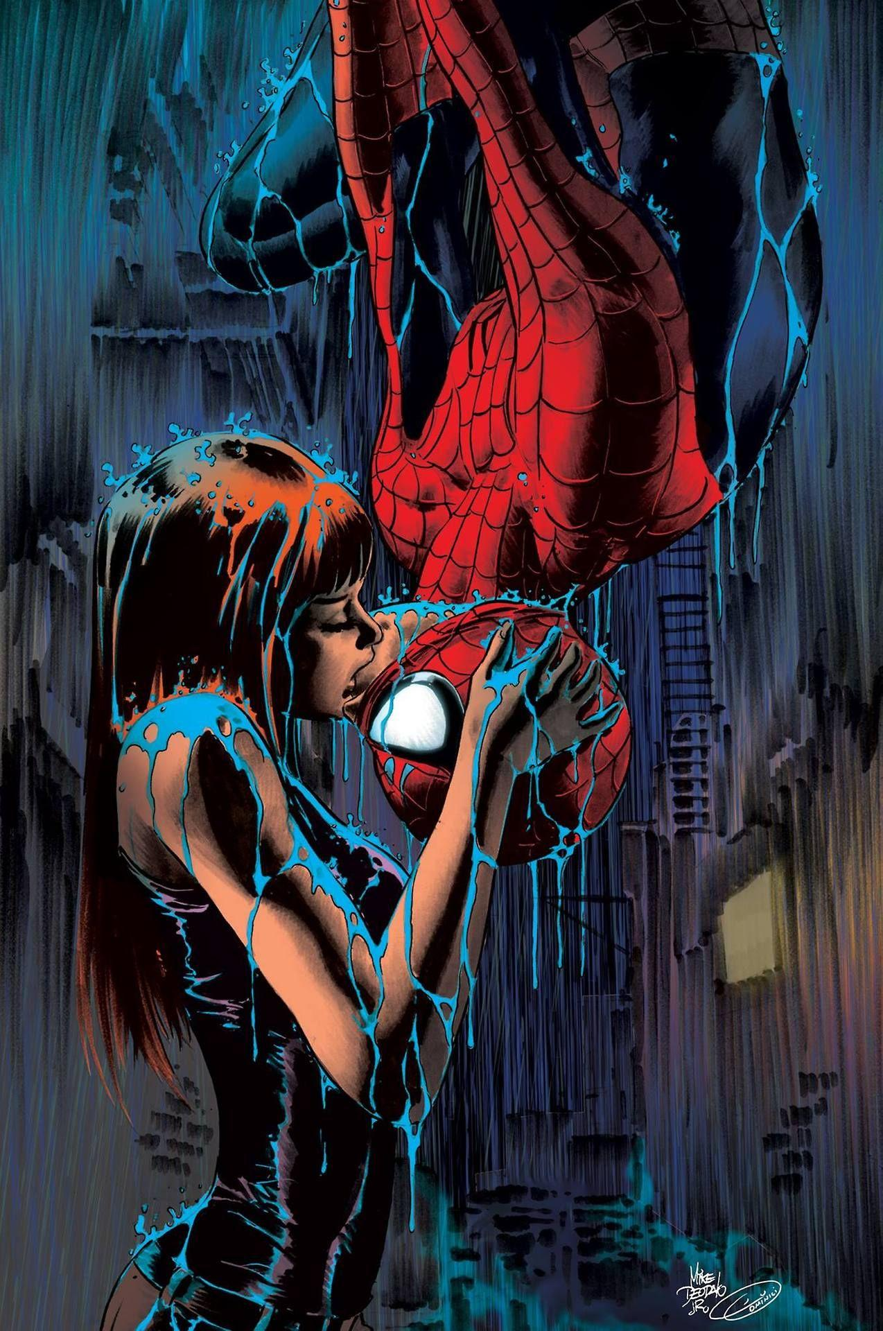 Peter Parker And Mj Wallpapers Wallpaper Cave