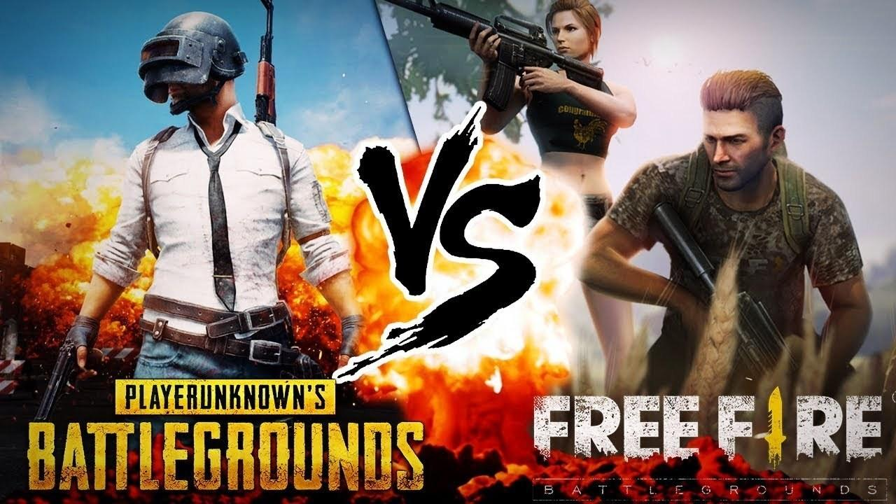 Free Fire And Pubg Desktop Wallpapers Wallpaper Cave