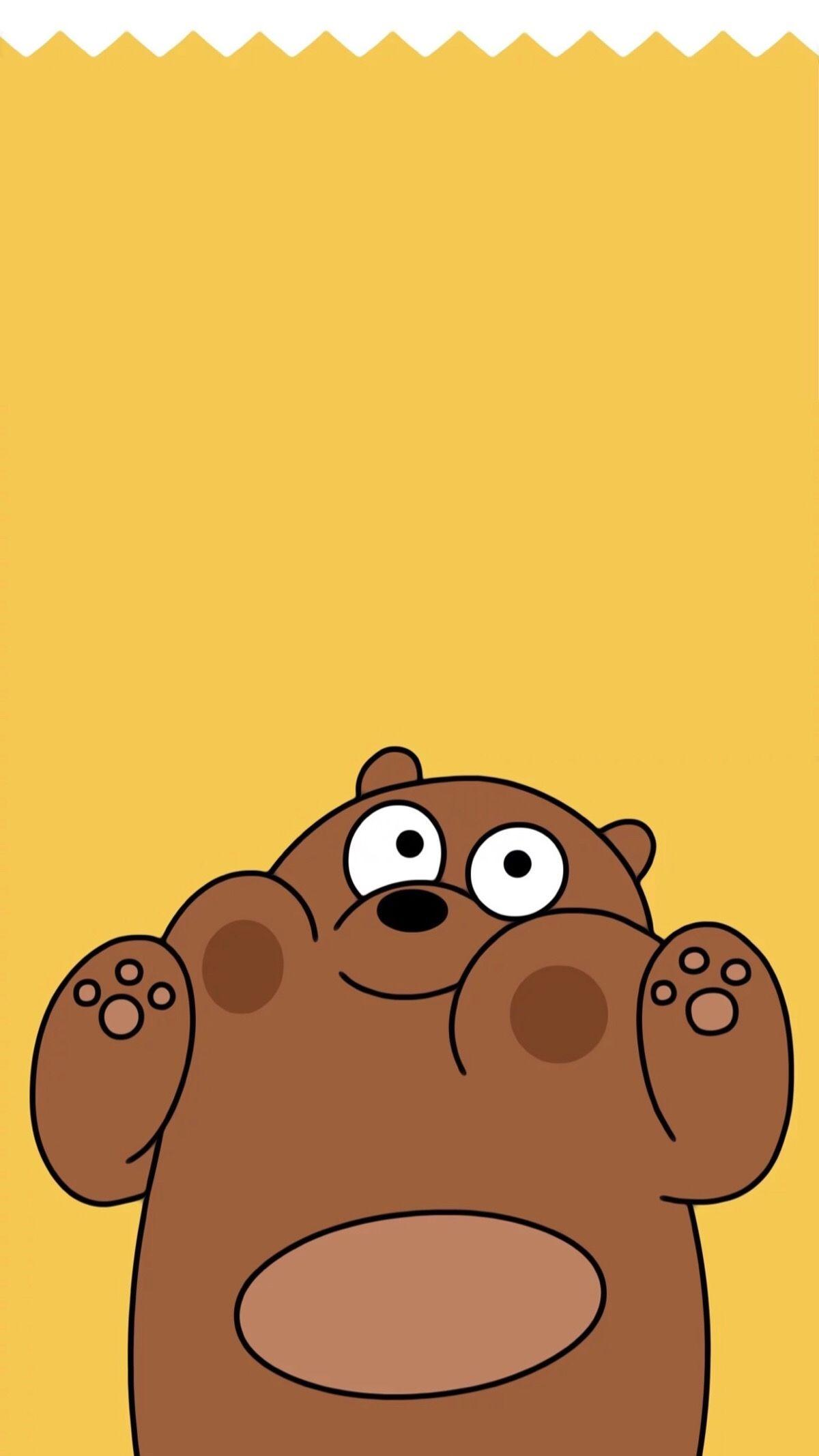 Grizzly We Bare Bears Wallpapers Wallpaper Cave