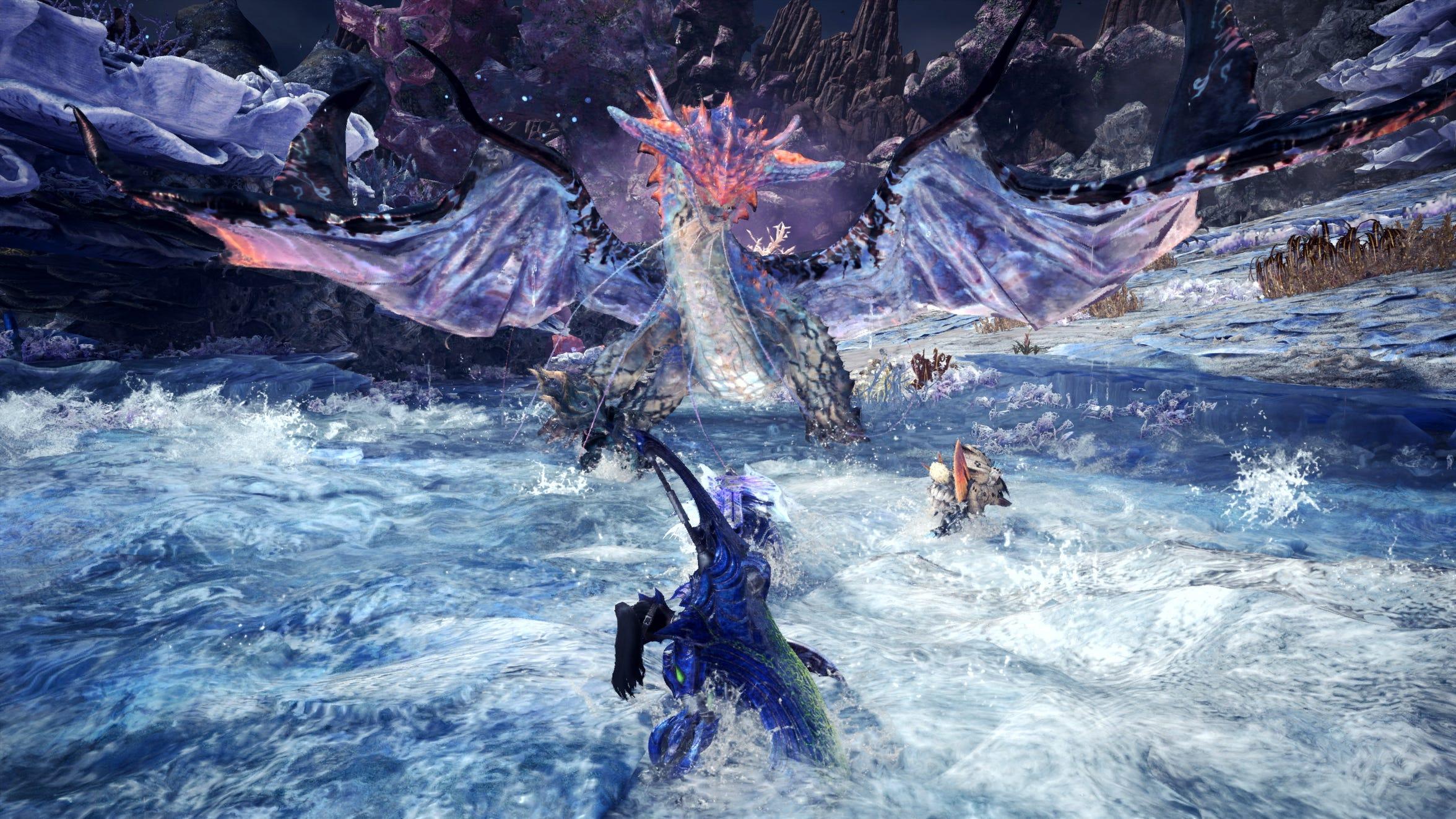 Monster Hunter World Iceborne Namielle Wallpapers Wallpaper Cave