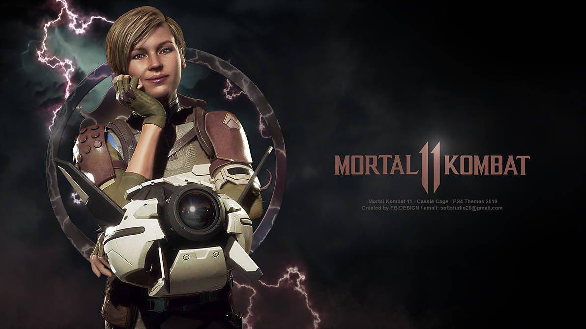 Cassie Cage Mk11 Wallpapers Wallpaper Cave