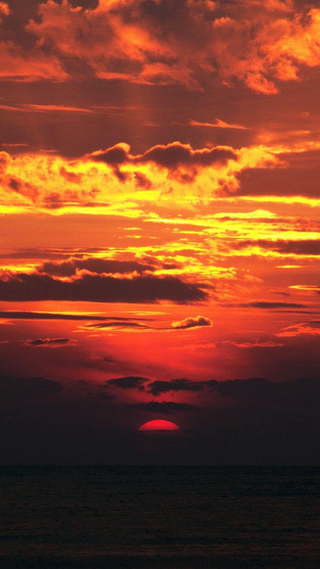 Amazing Red Sunset Wallpapers Wallpaper Cave