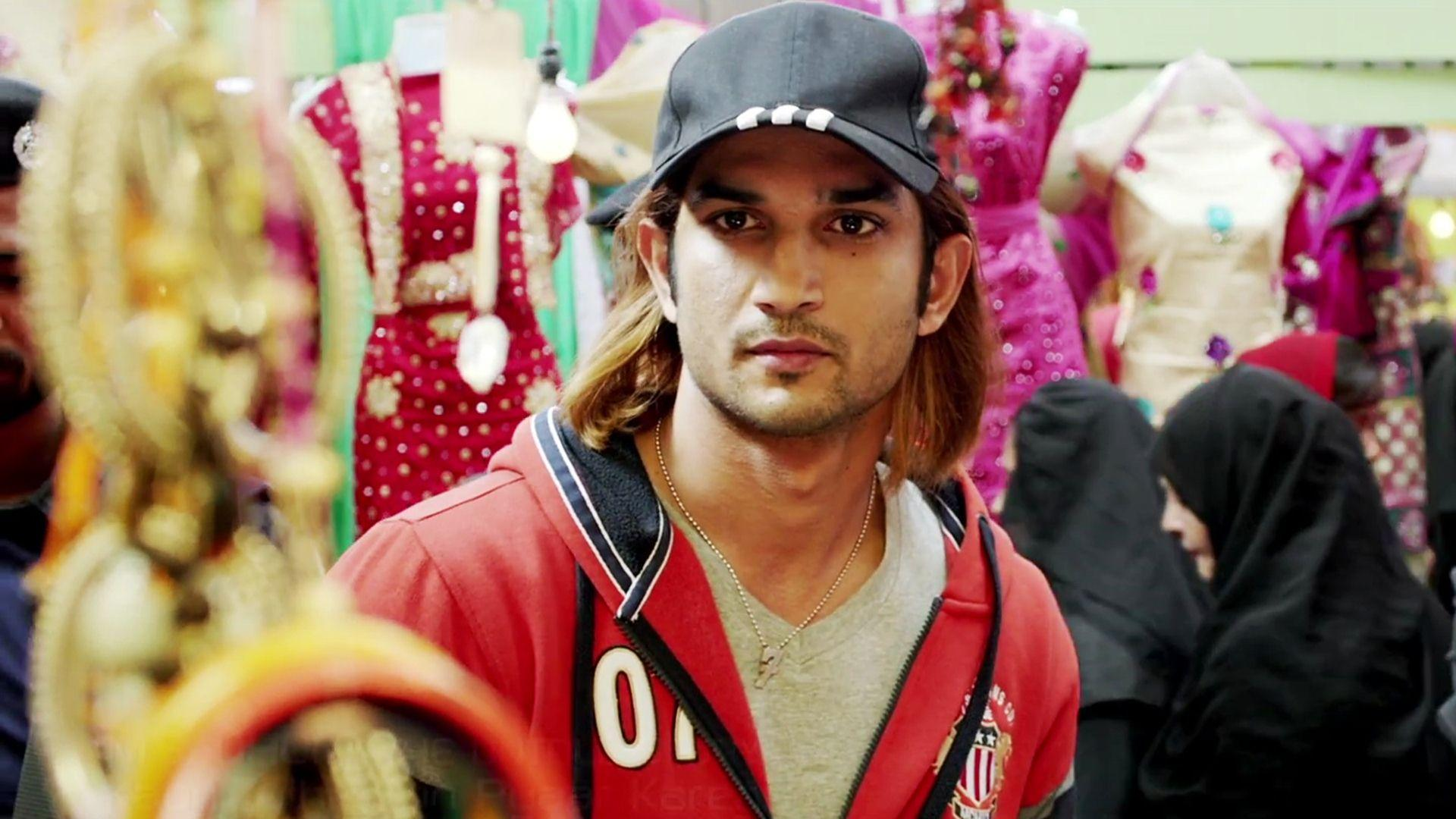 Sushant Singh Rajput In MS Dhoni The Untold Story Wallpapers