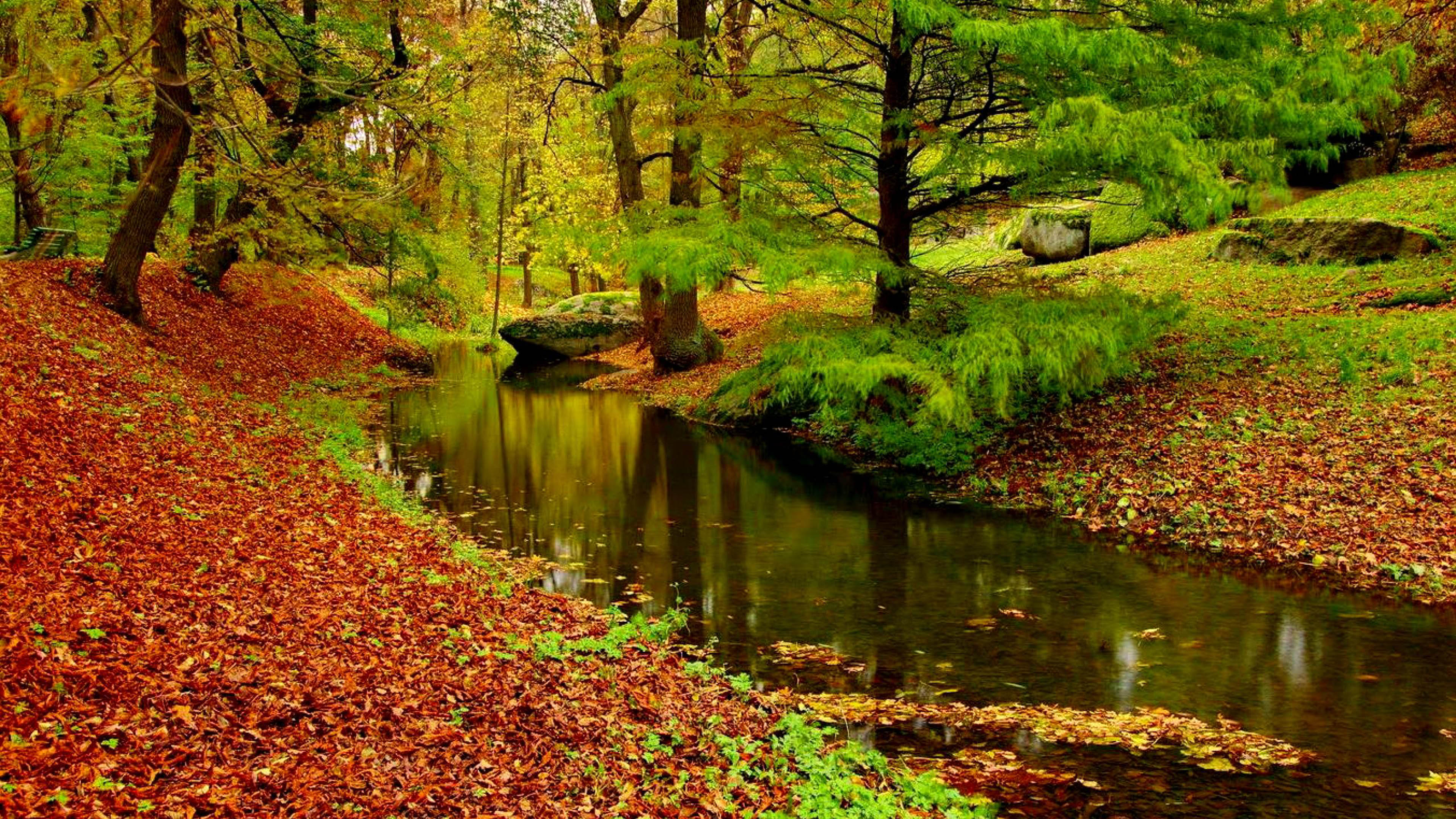 Autumn Landscape River Wallpapers Wallpaper Cave